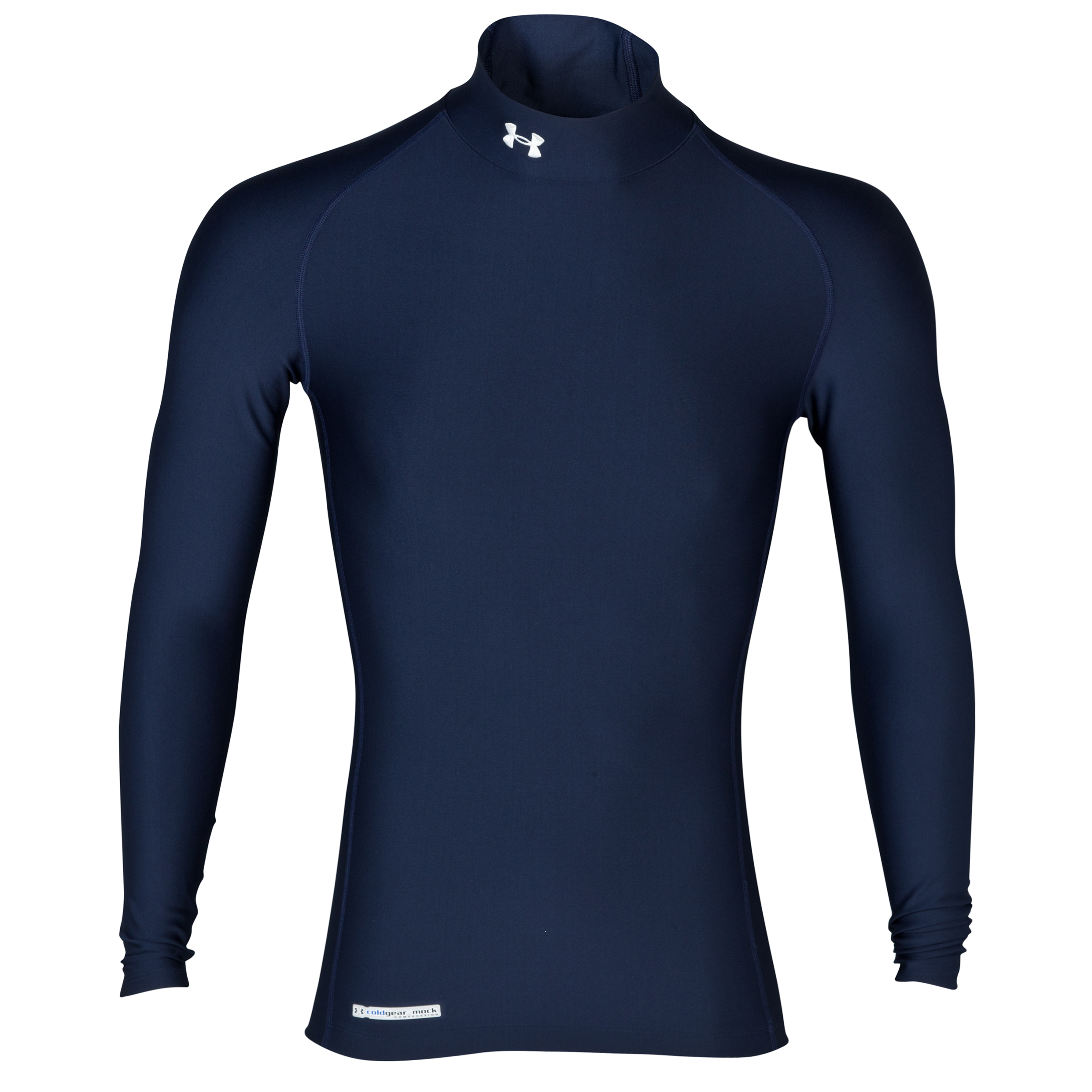 Under Armour Evo Coldgear mock Base Layer Top - Long Sleeve Navy