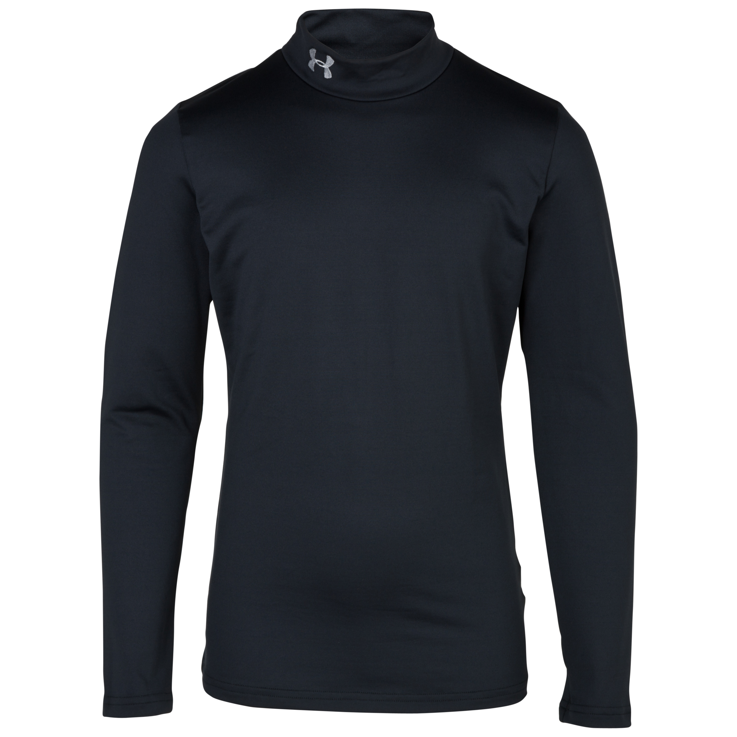 Under Armour Evo Coldgear Mock Base Layer Top - Long Sleeve - Kids Black