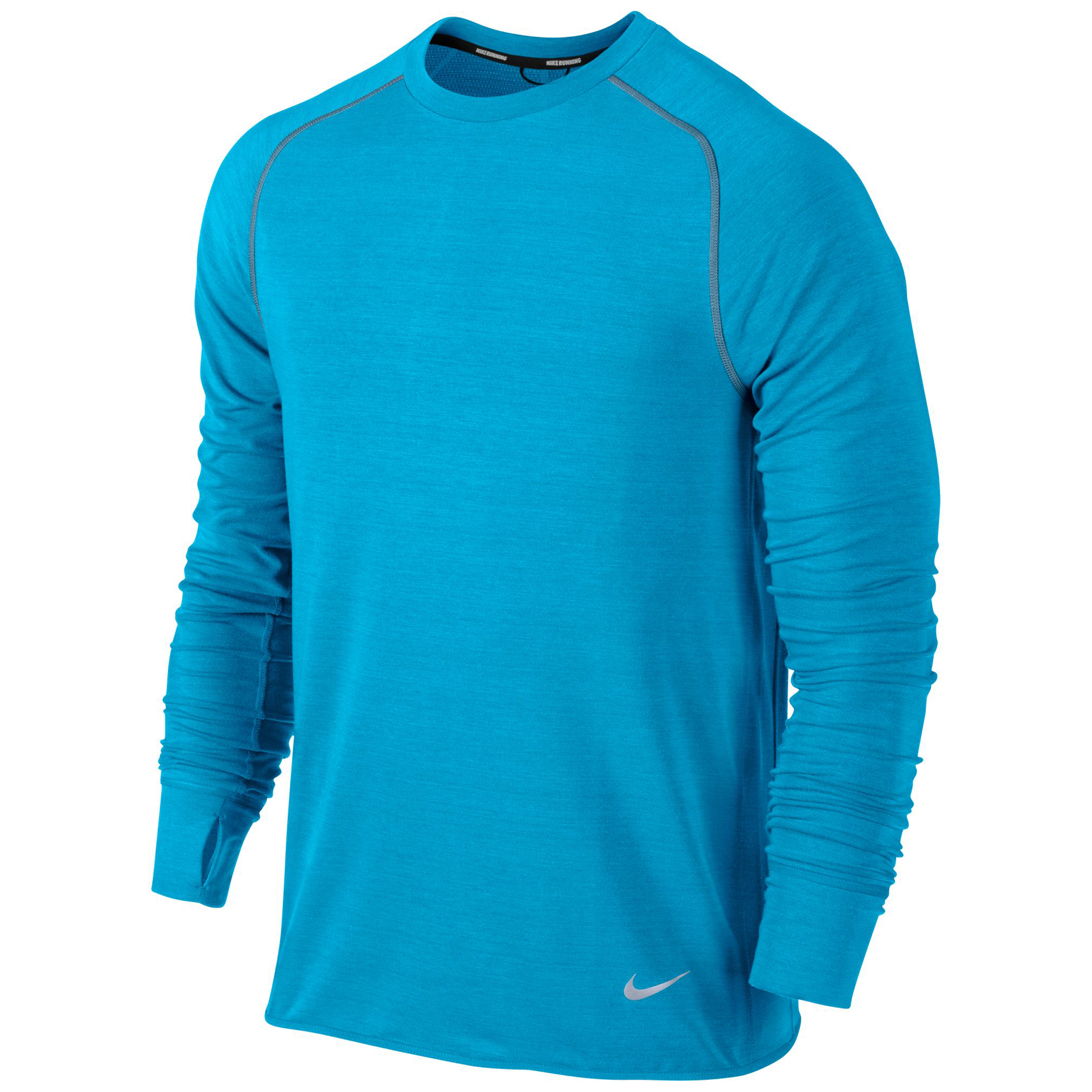 Nike DF Feather Fleece Crew Blue
