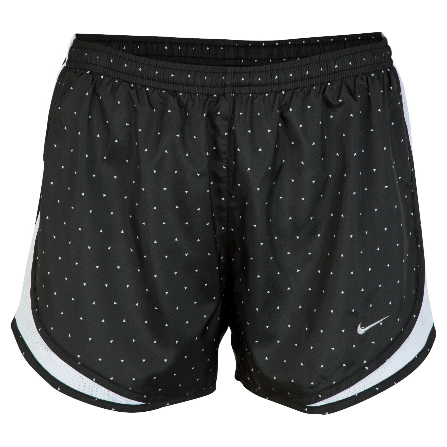 Nike Printed Tempo Short Womens Black