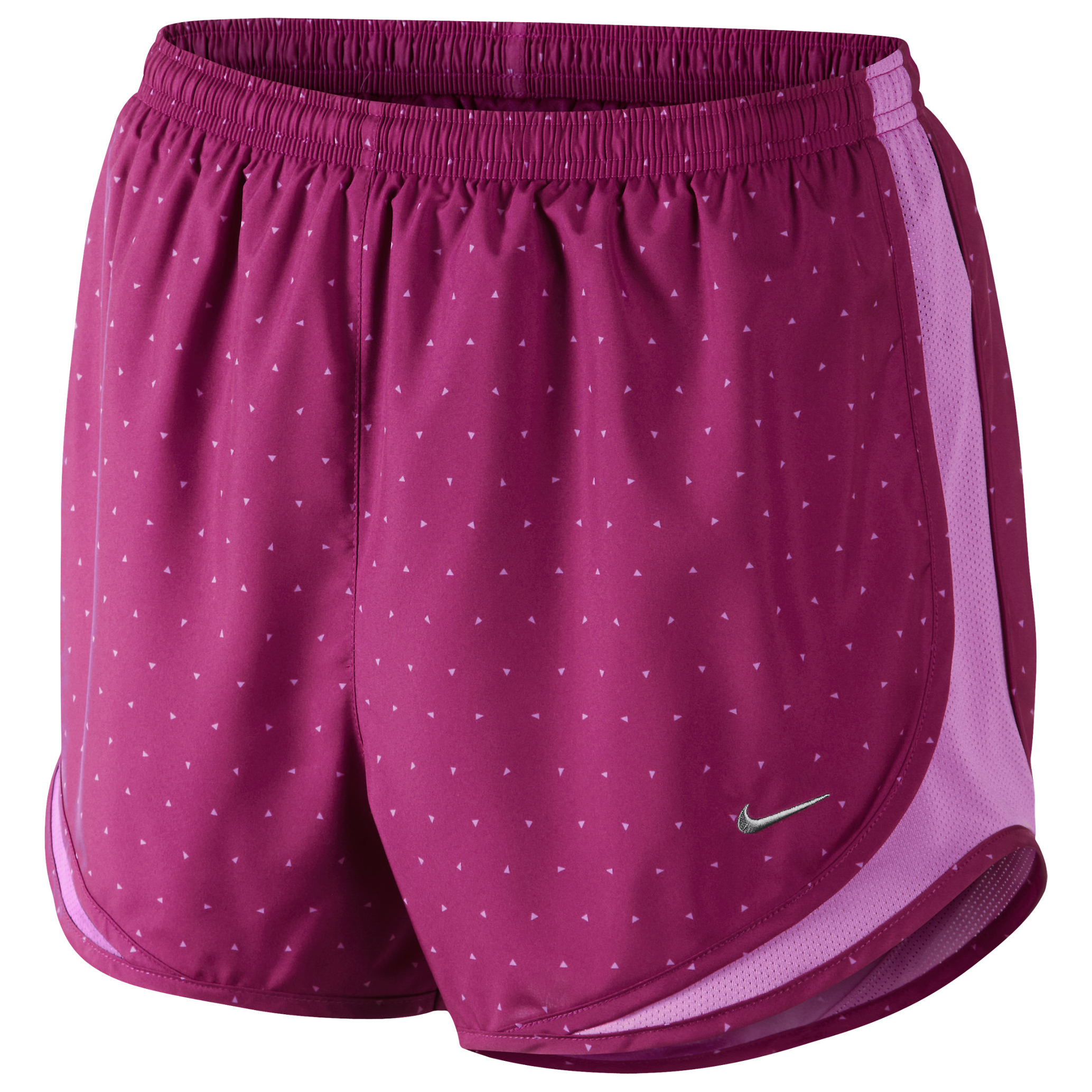 Nike Printed Tempo Short Womens Purple