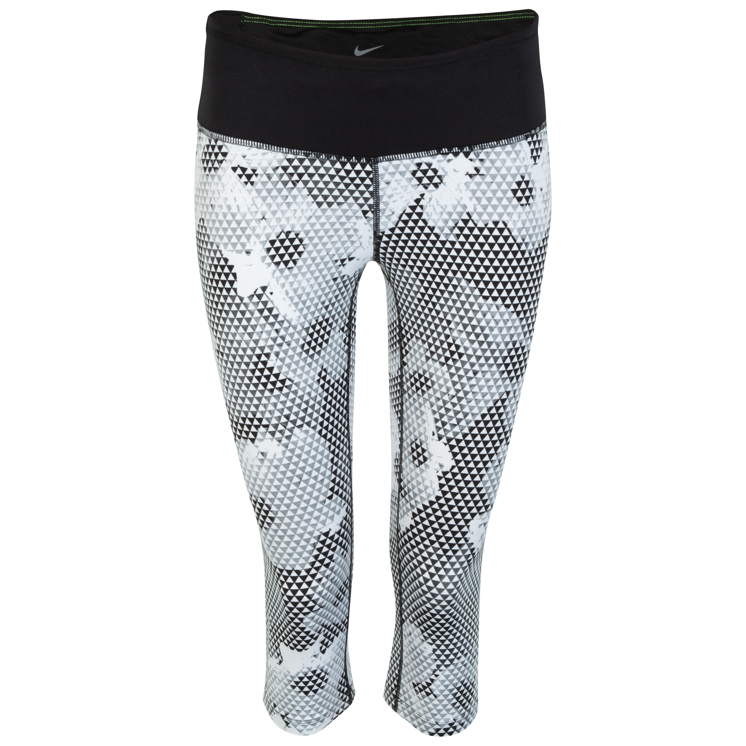 Nike Epic Run Printed Capri Womens White