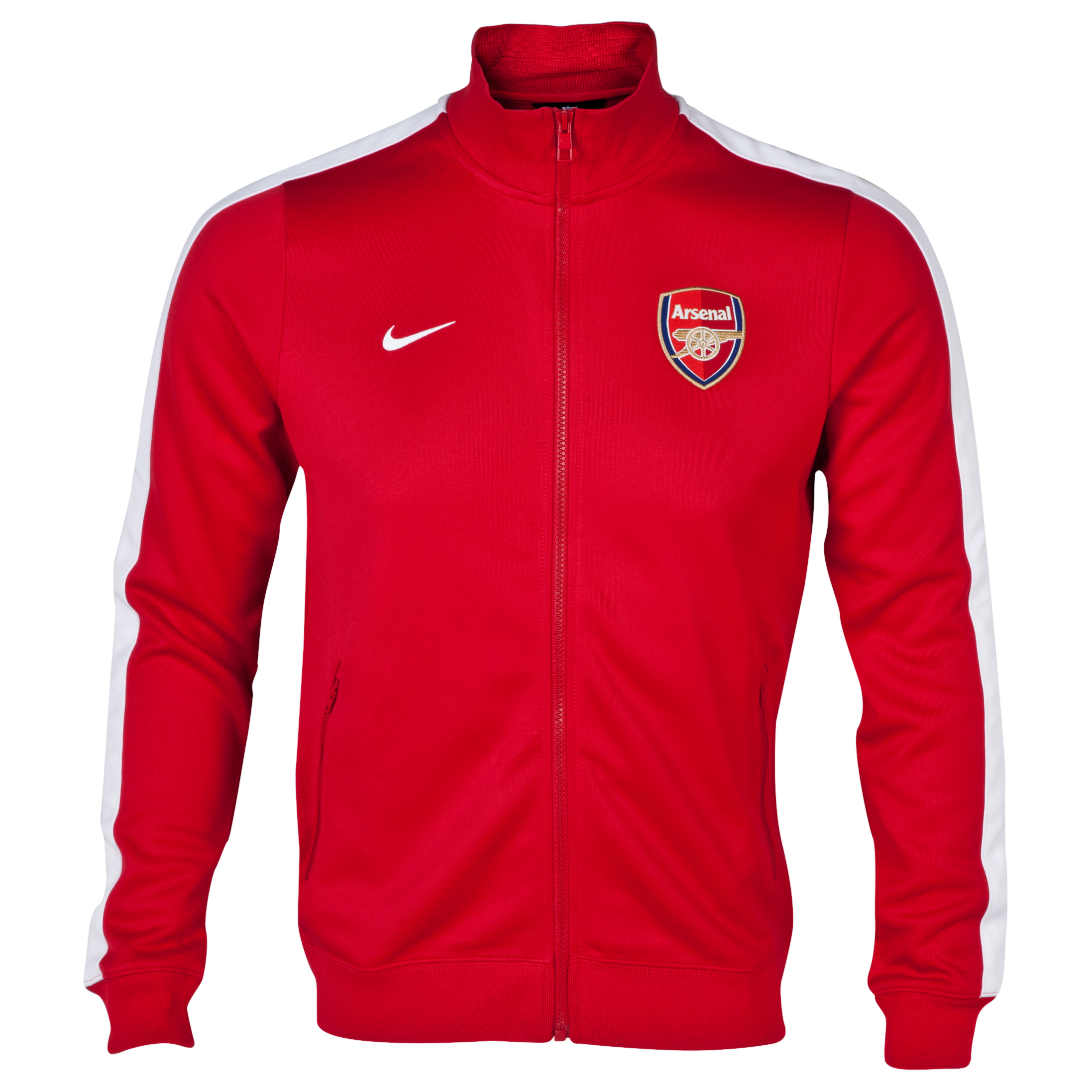 Arsenal Authentic N98 Track Jacket Red