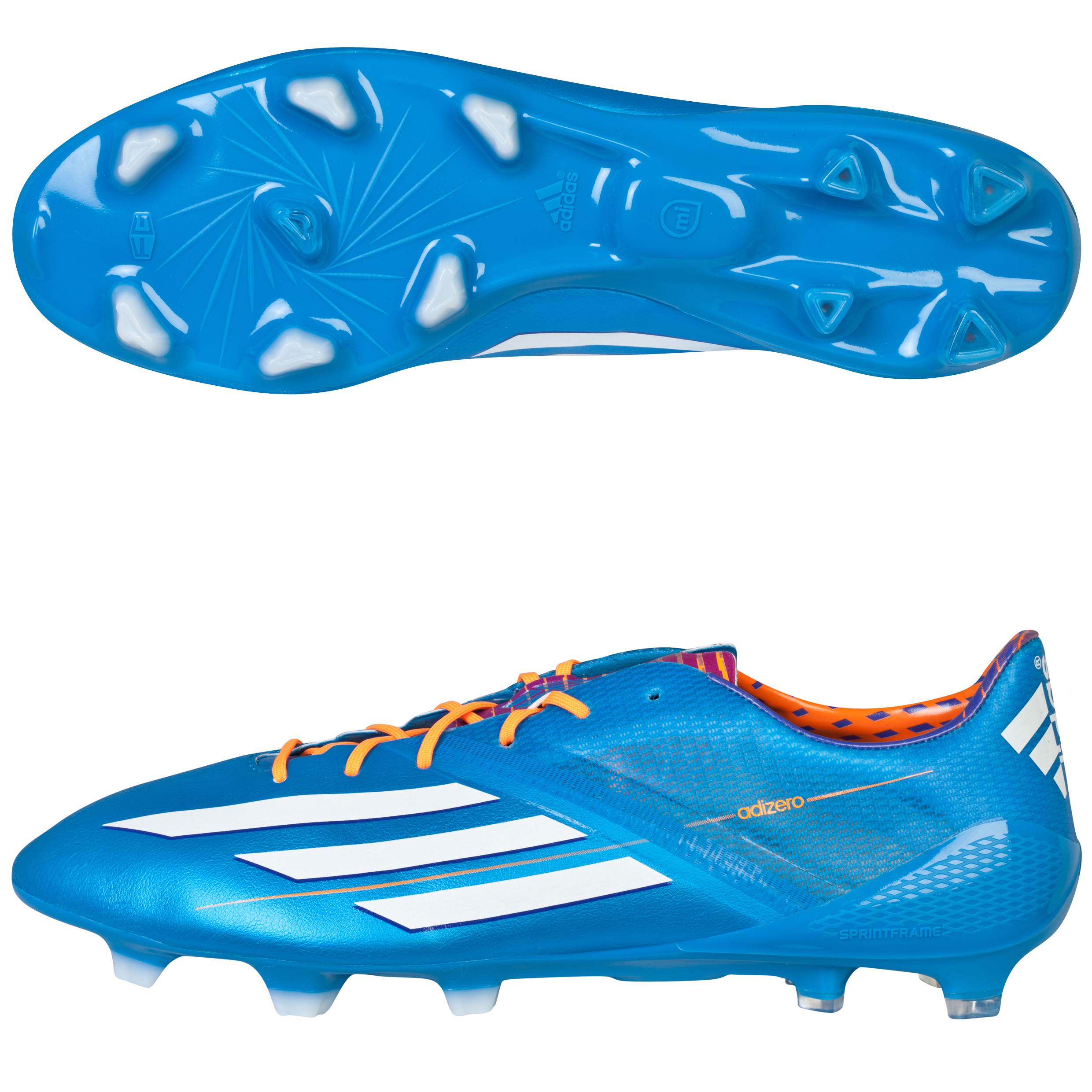 Adidas F50 adiZero TRX Firm Ground Football Boots Blue