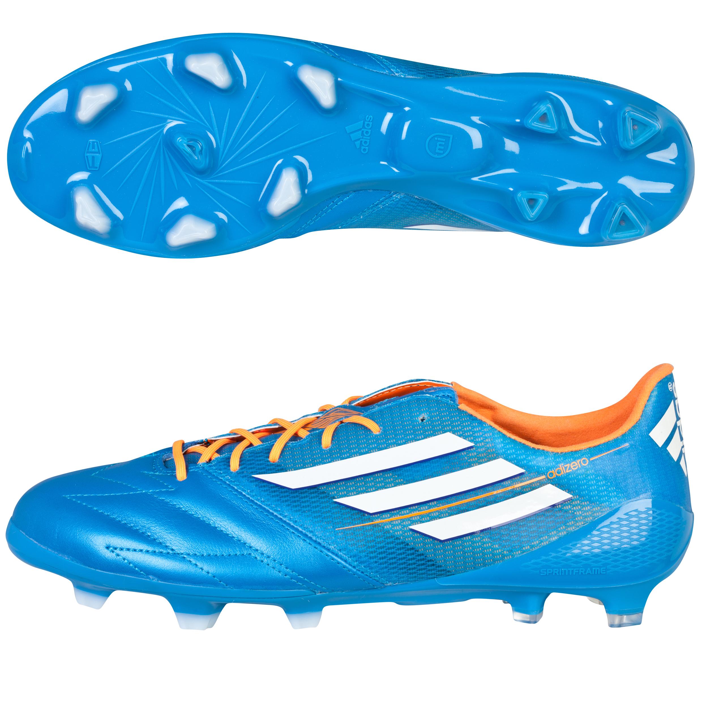 adidas F50 adiZero TRX Leather Firm Ground Blue