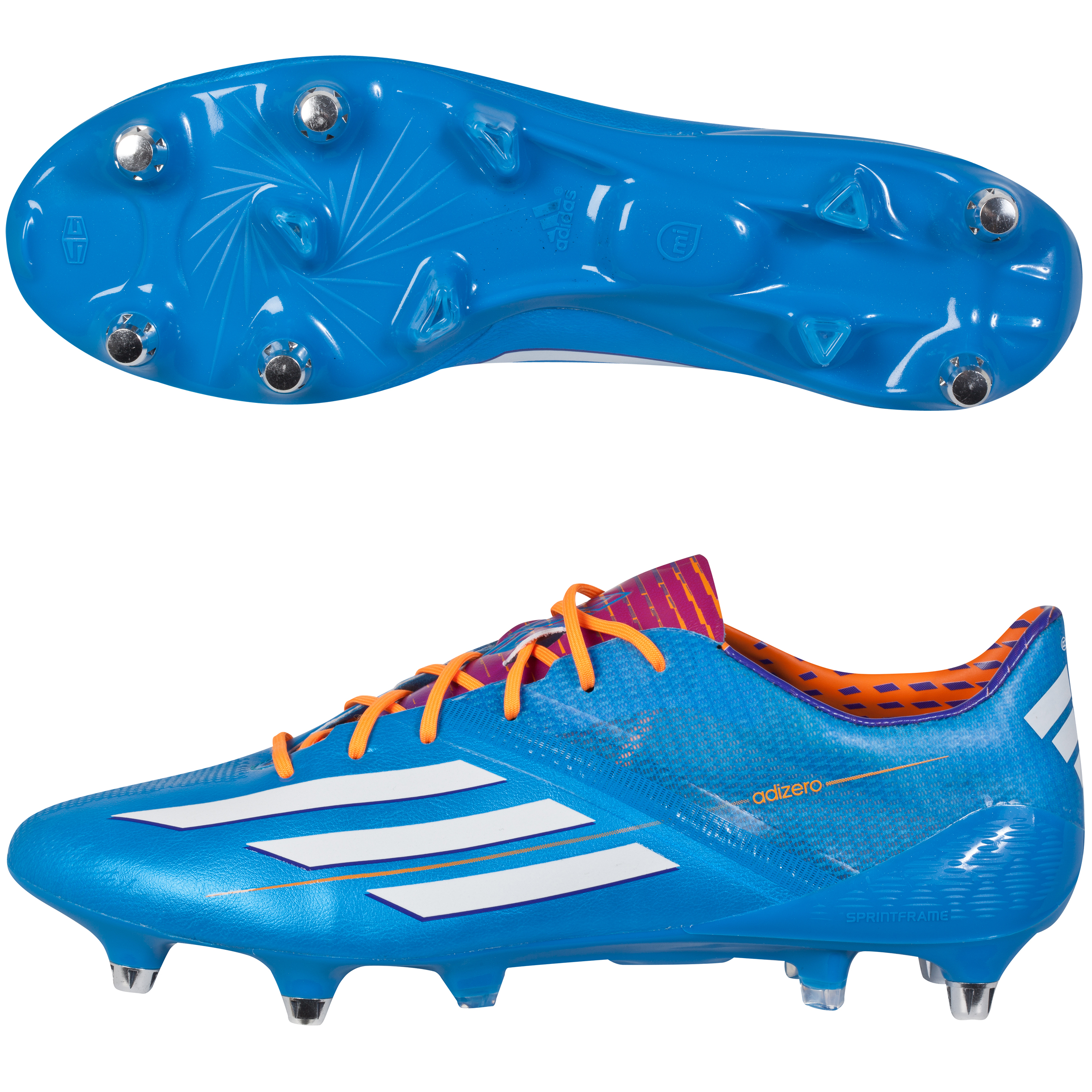 Adidas F50 adiZero XTRX Soft Ground Football Boots Blue