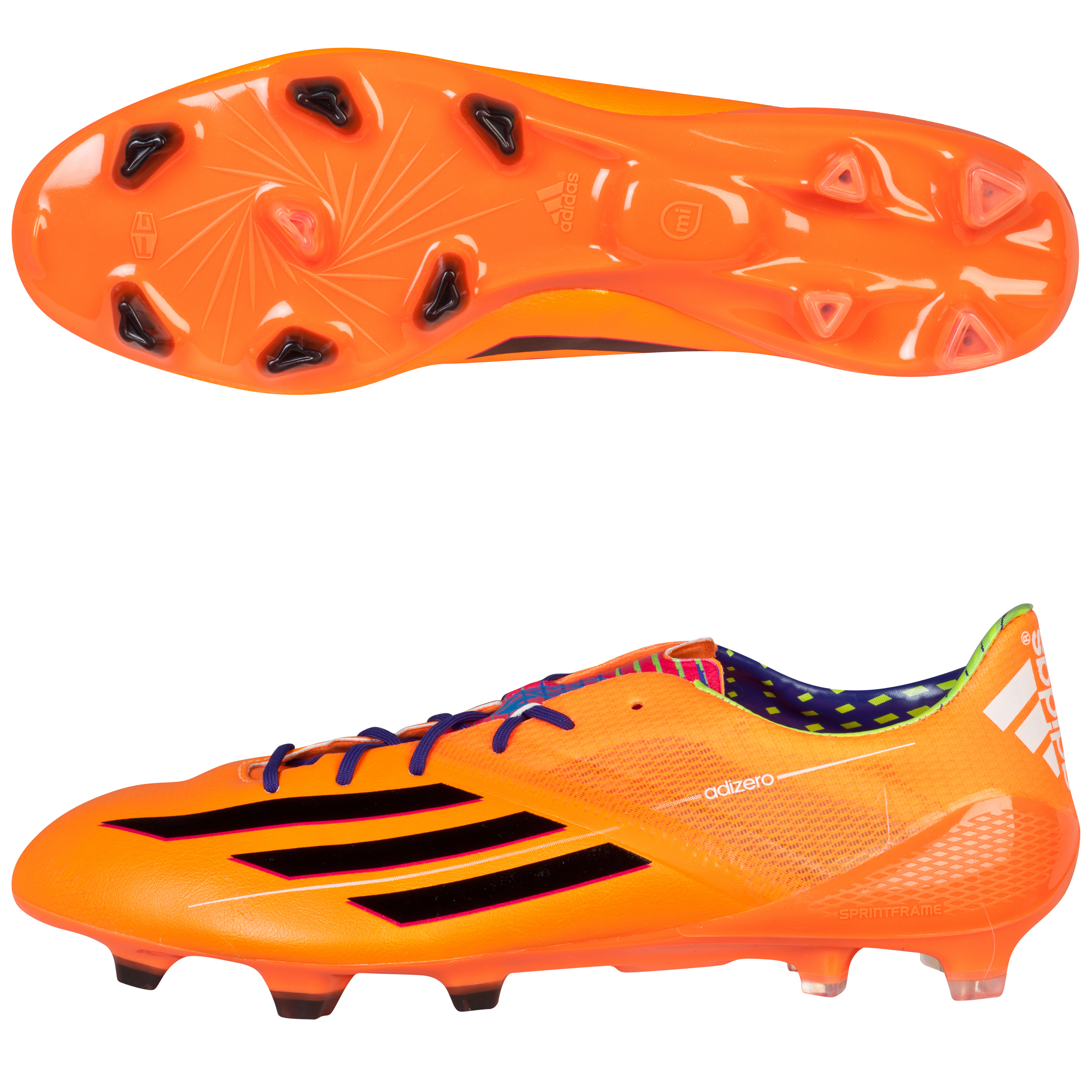 Adidas F50 adiZero TRX Firm Ground Football Boots Yellow
