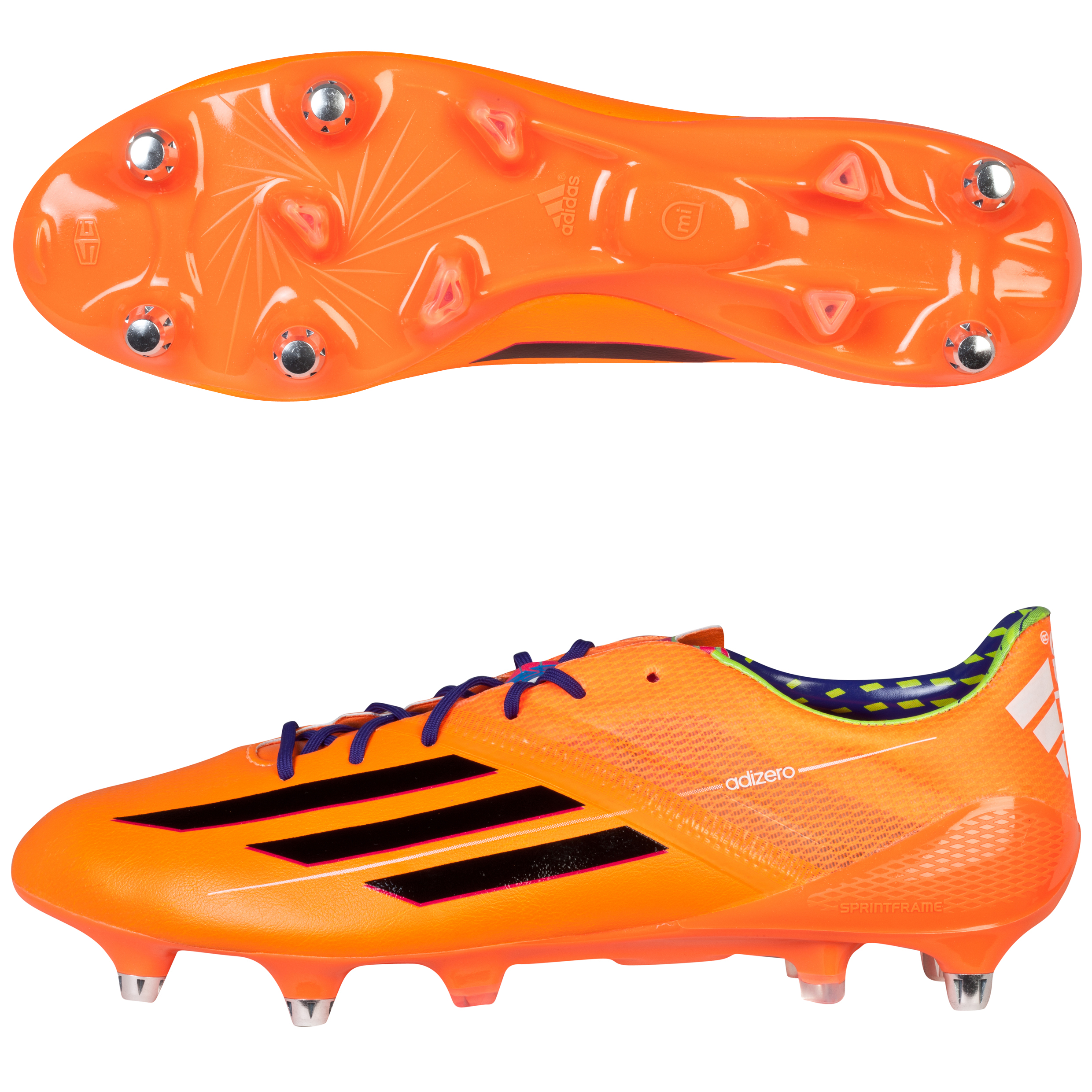 Adidas F50 adiZero XTRX Soft Ground Football Boots Orange