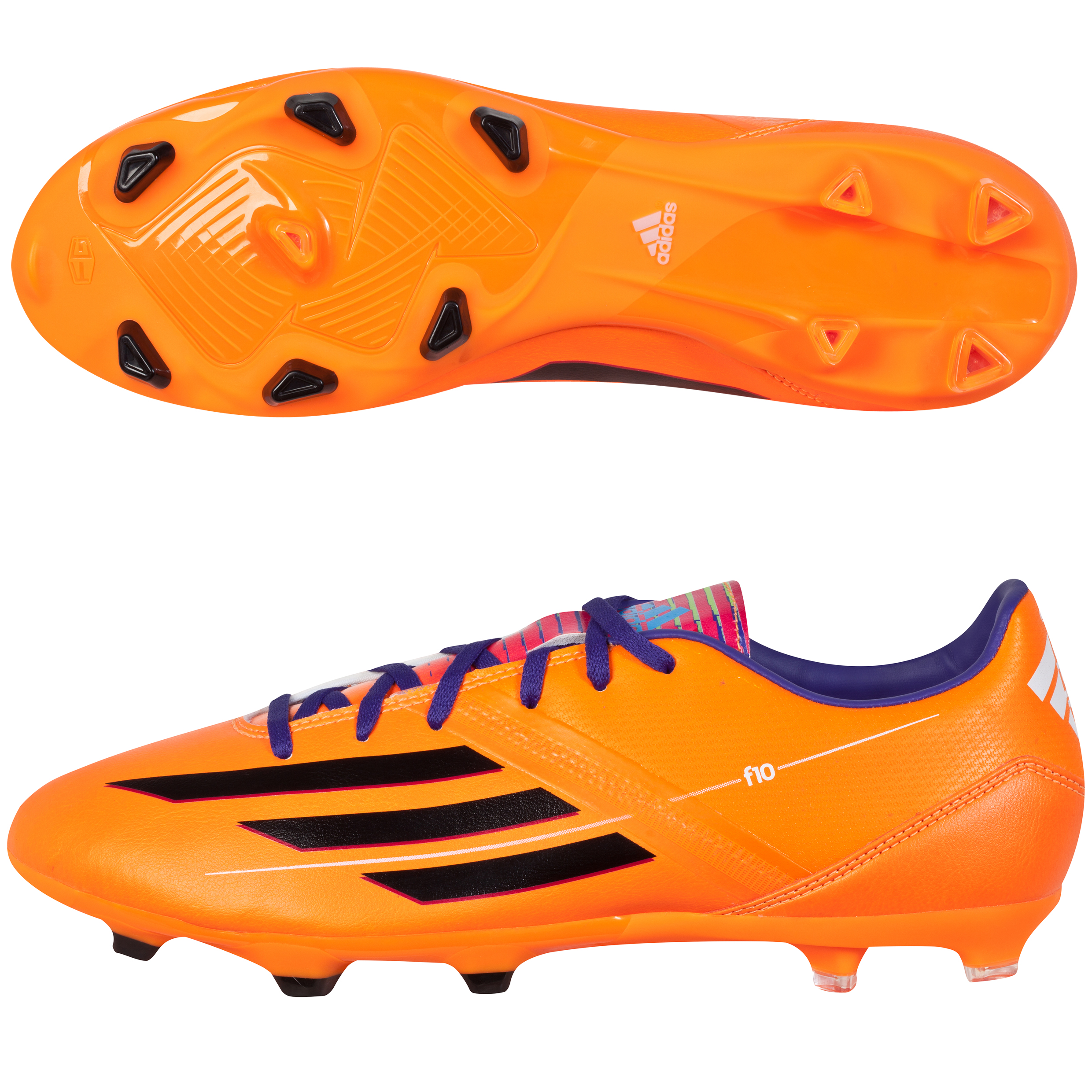Adidas F10 TRX Firm Ground Football Boots Orange