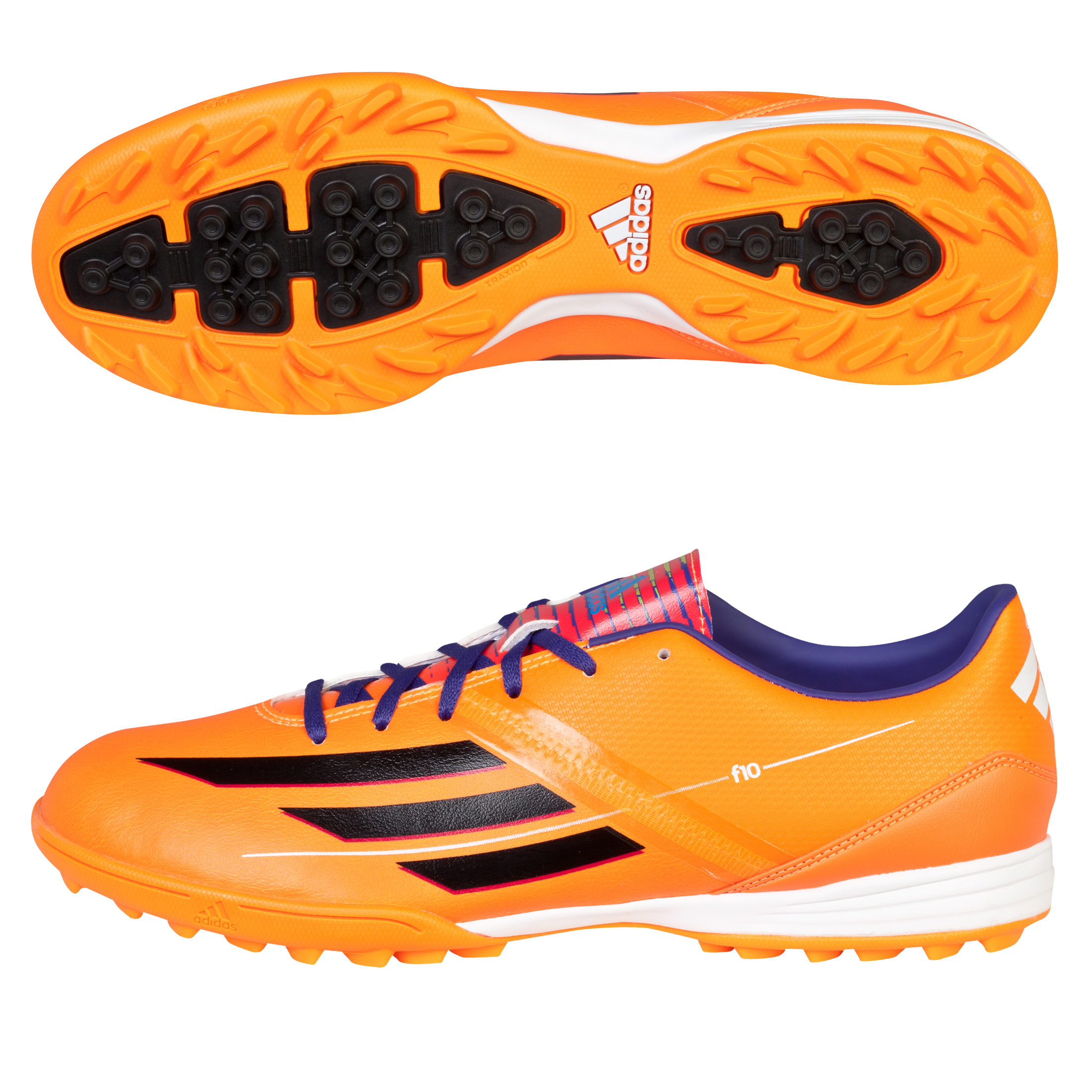 Adidas F10 TRX Astroturf Trainers Orange