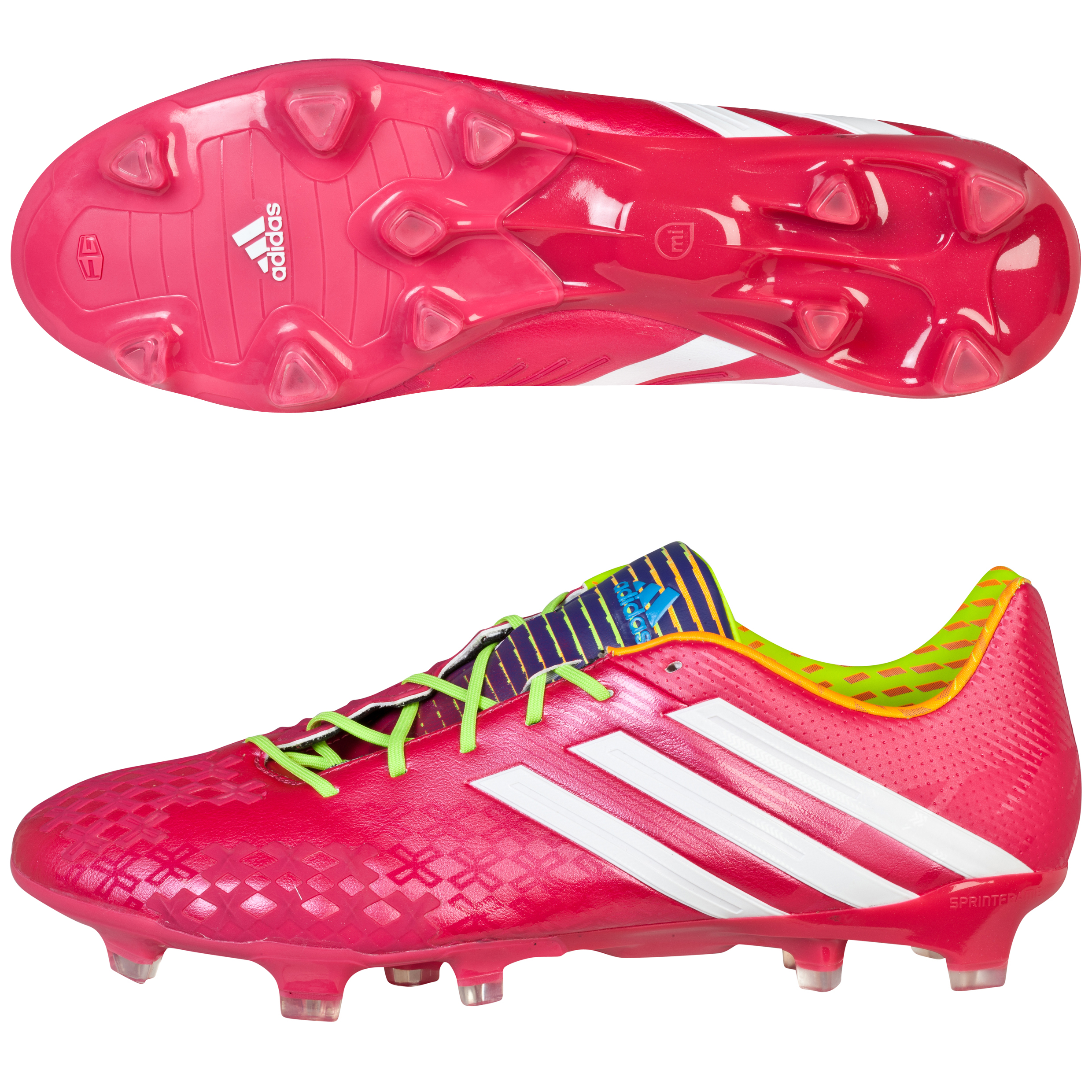 Adidas Predator LZ TRX Firm Ground Football Boots Pink