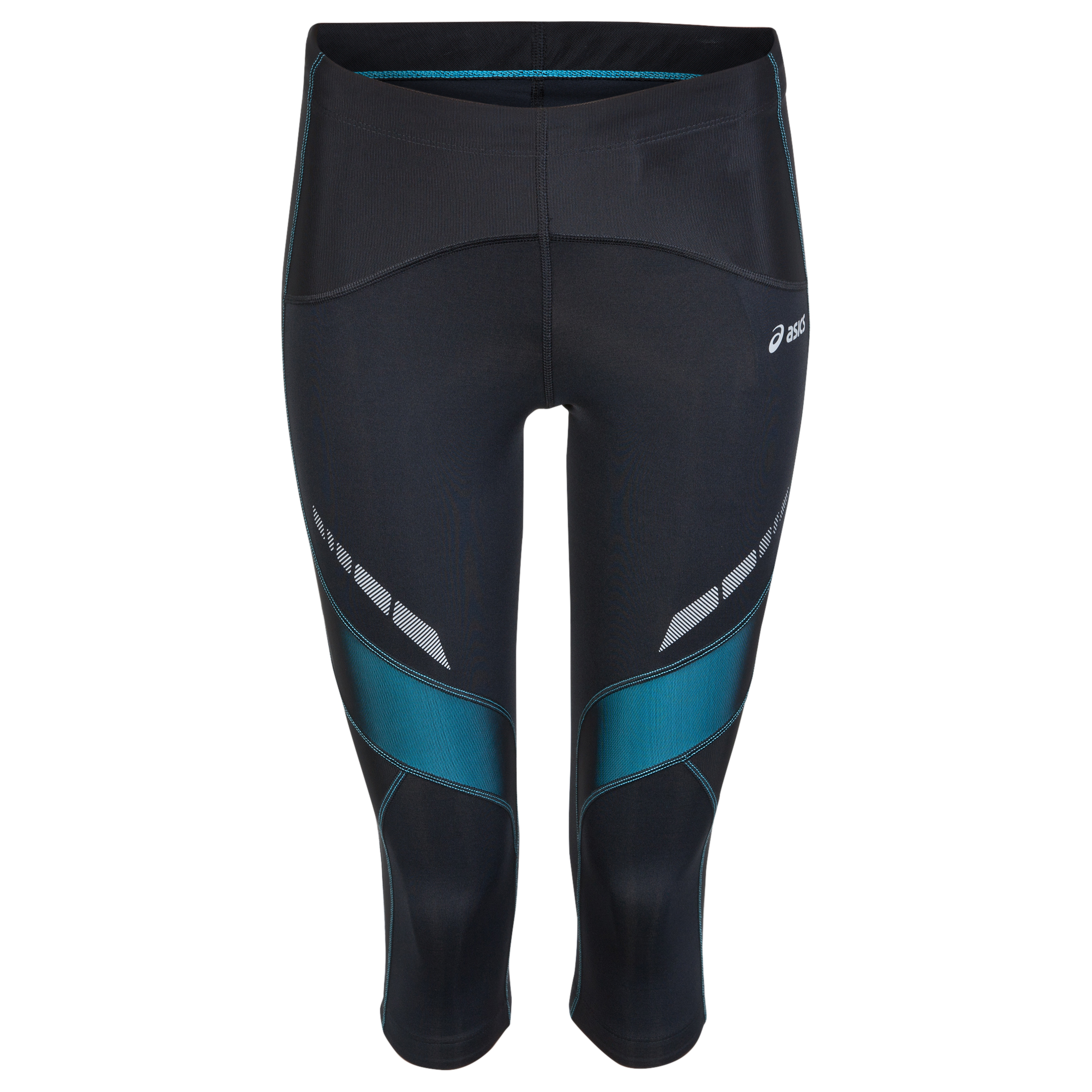 Asics Leg Balance Knee Tights  Womens Black