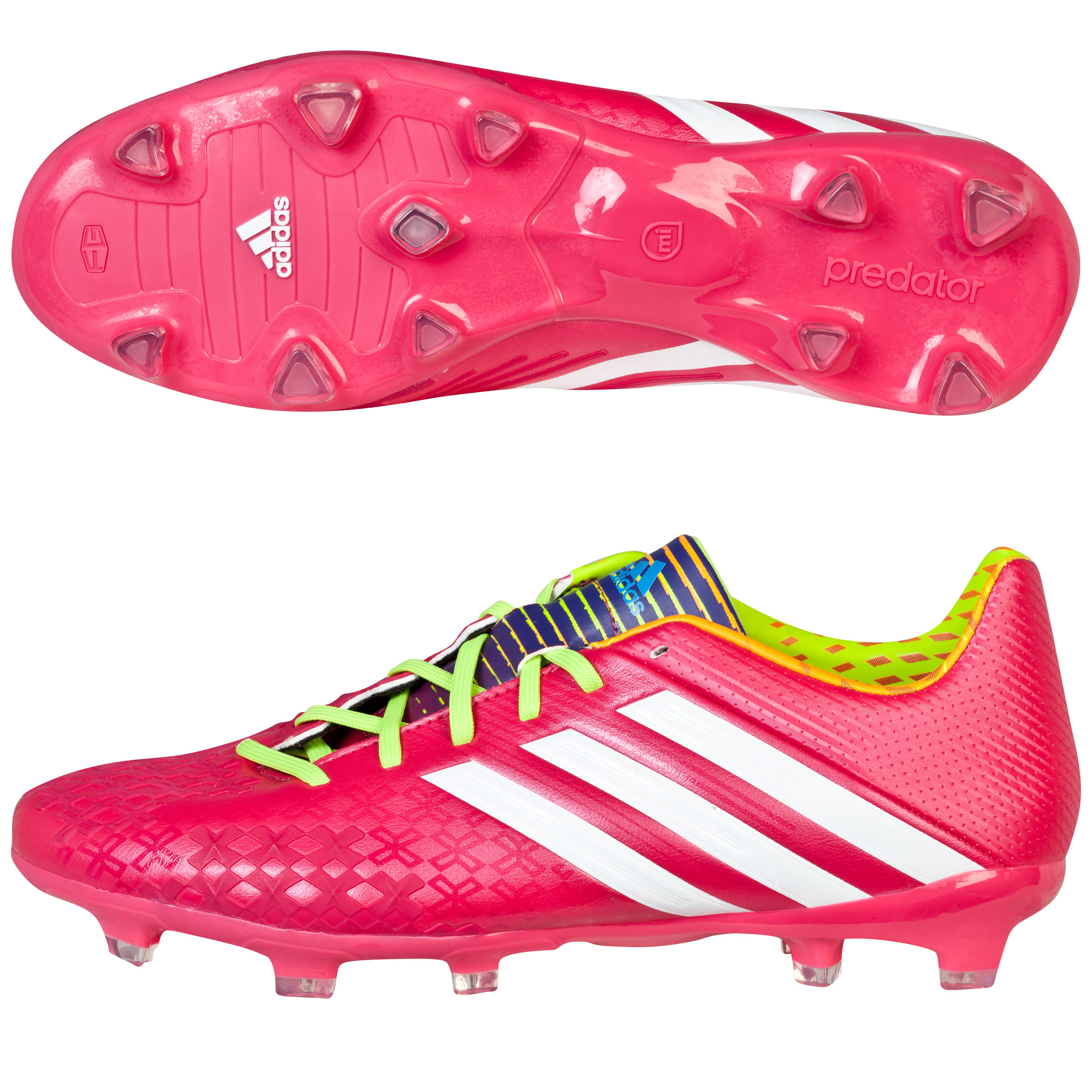 Adidas Predator Absolion LZ TRX Firm Ground Football Boots Pink