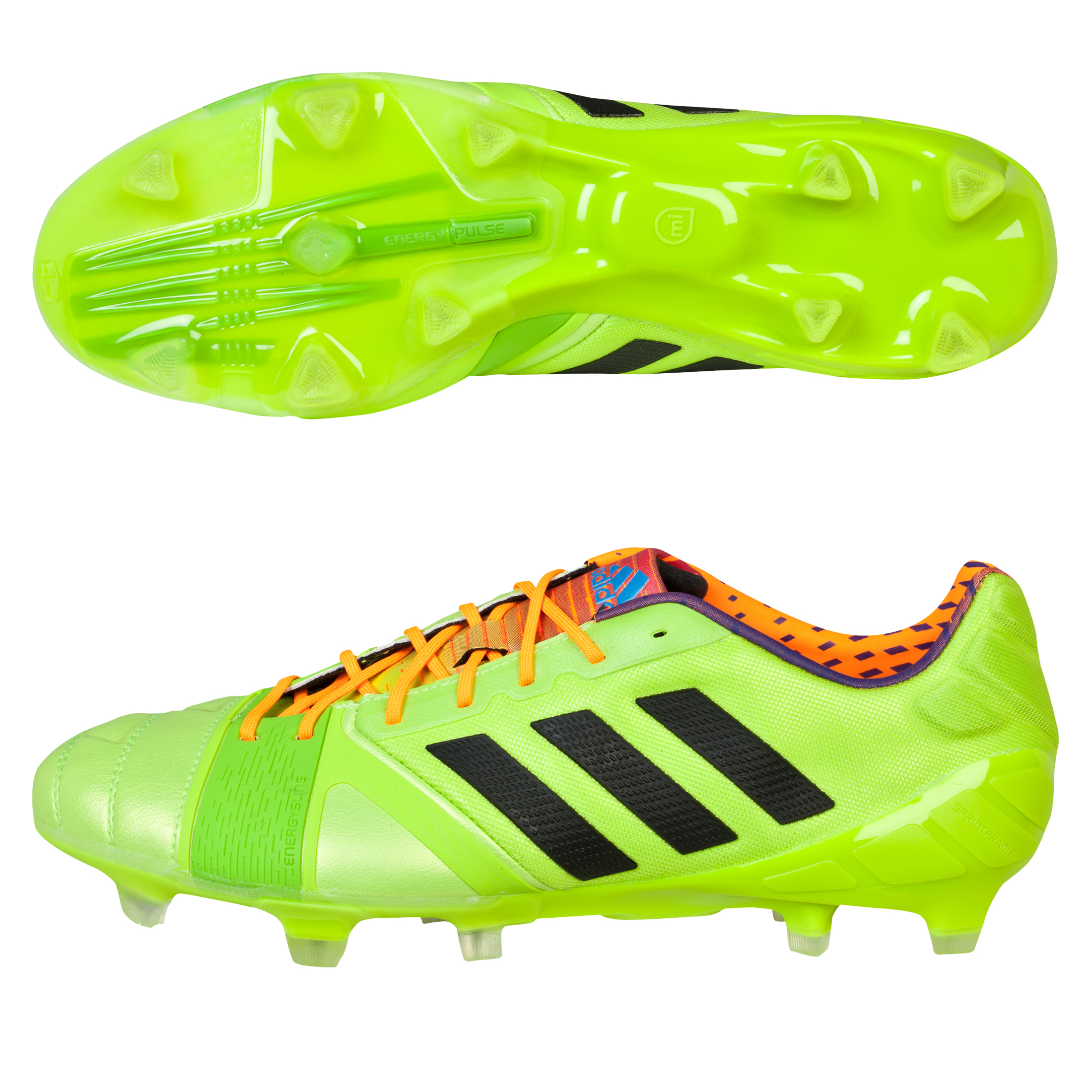adidas Nitrocharge 1.0 TRX Firm Ground Football Boots Green