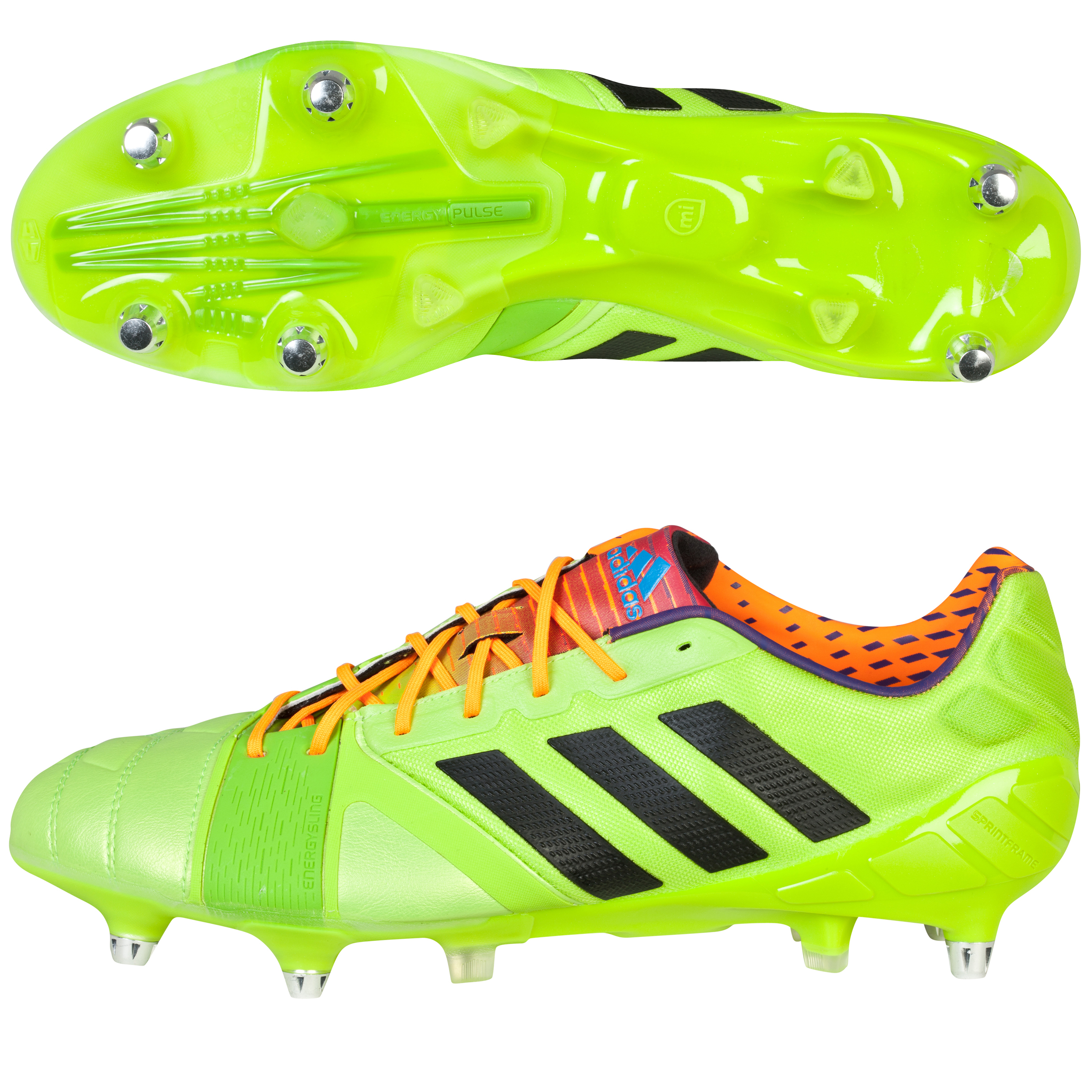 Adidas Nitrocharge 1.0 XTRX Soft Ground Football Boots Green
