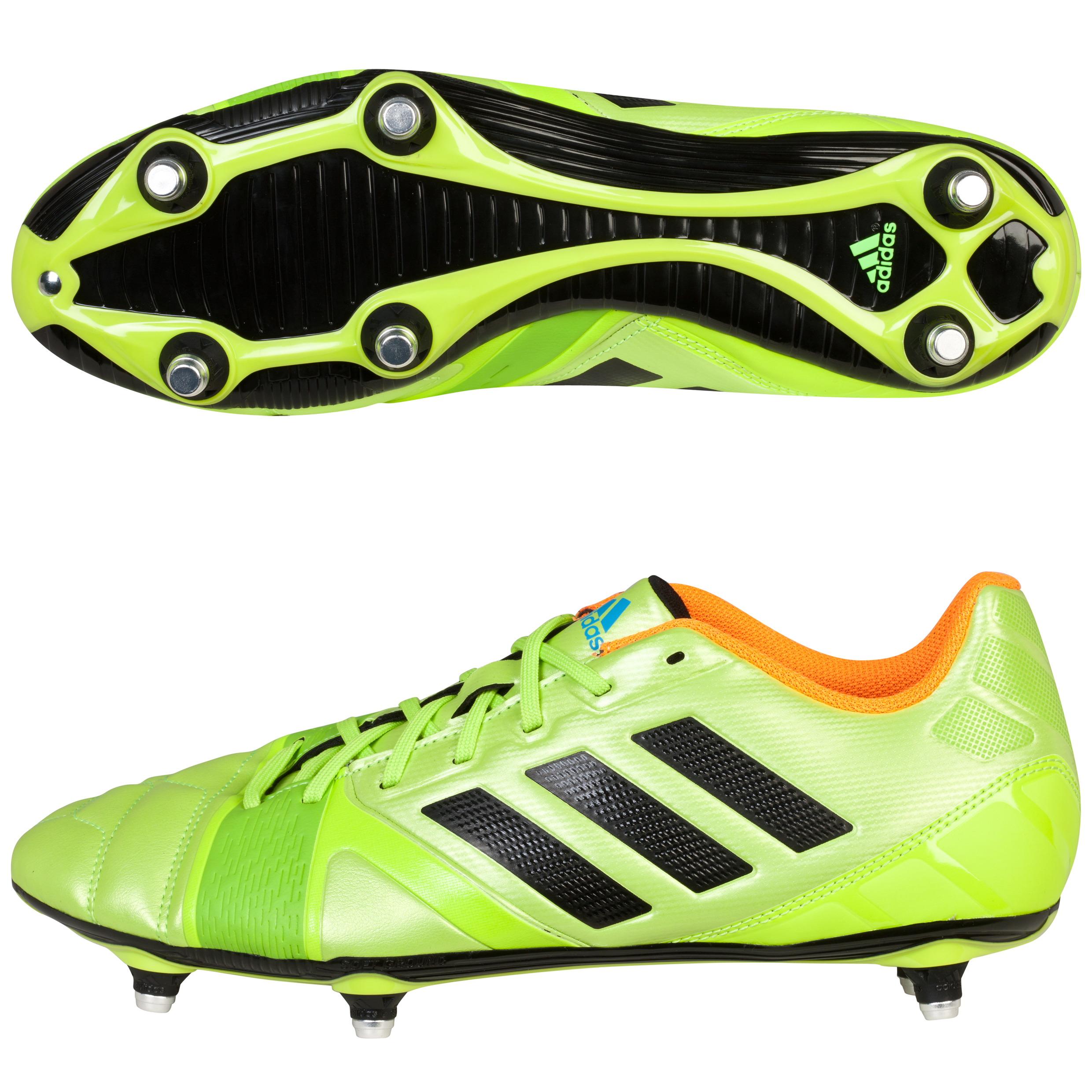 Adidas Nitrocharge 3.0 Soft Ground Football Boots Green