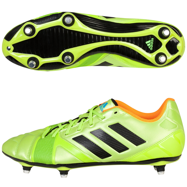 Adidas Nitrocharge 3.0 Soft Ground Football Boots Green