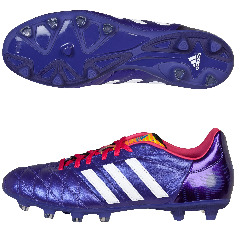 Adidas 11Nova TRX Firm Ground Football Boots Purple