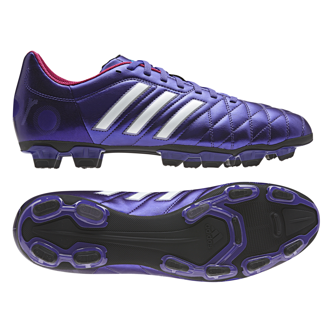 Adidas 11Questra TRX Firm Ground Football Boots Purple