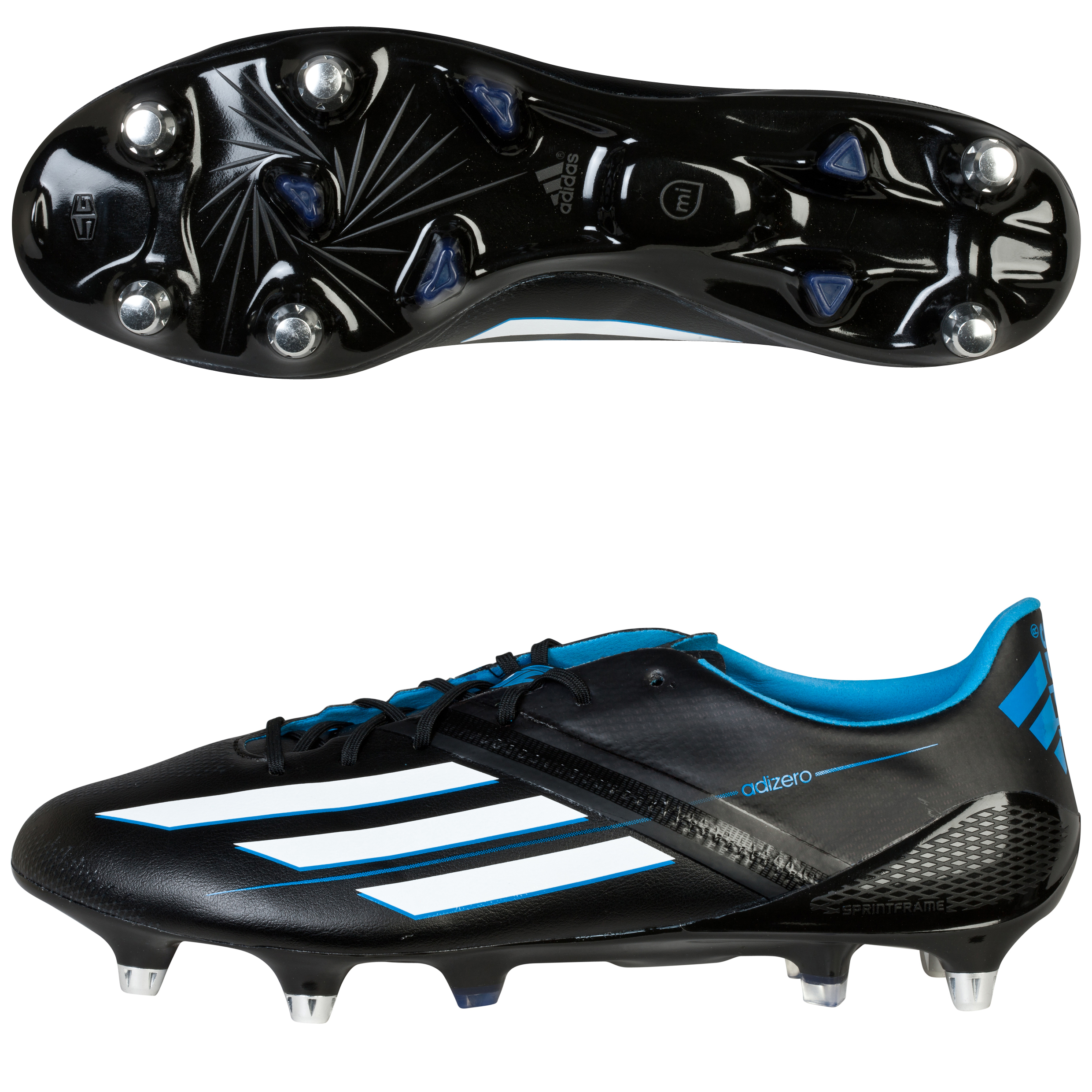 Adidas F50 adiZero XTRX Soft Ground Football Boots Black