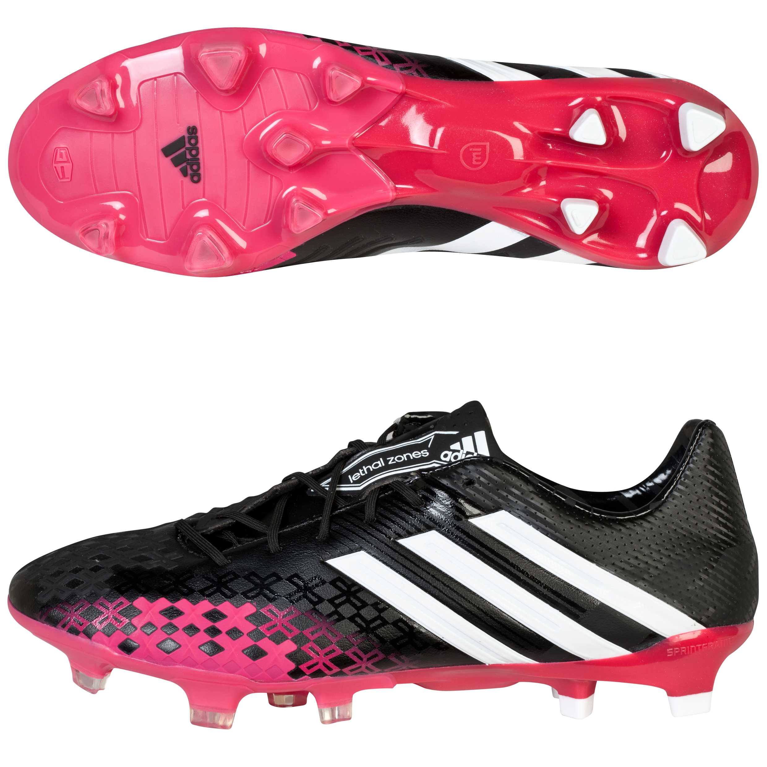 Adidas Predator LZ TRX Firm Ground Black