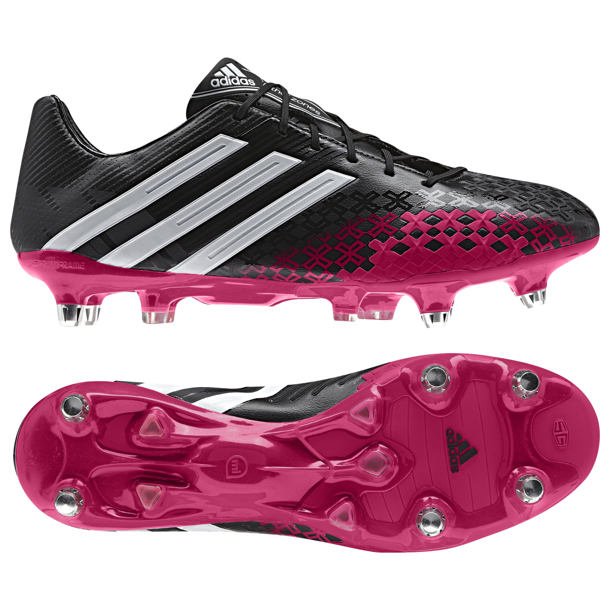 Adidas Predator LZ XTRX Soft Ground Football Boots Black