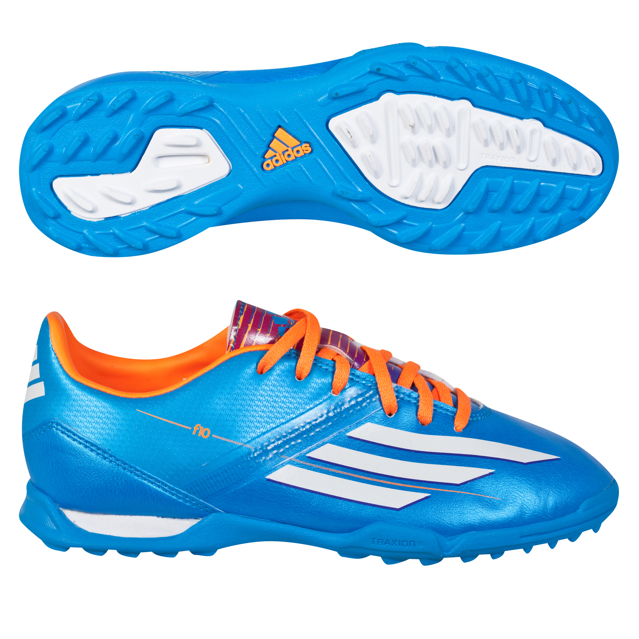 Adidas F10 TRX Astroturf Trainers - Kids Blue