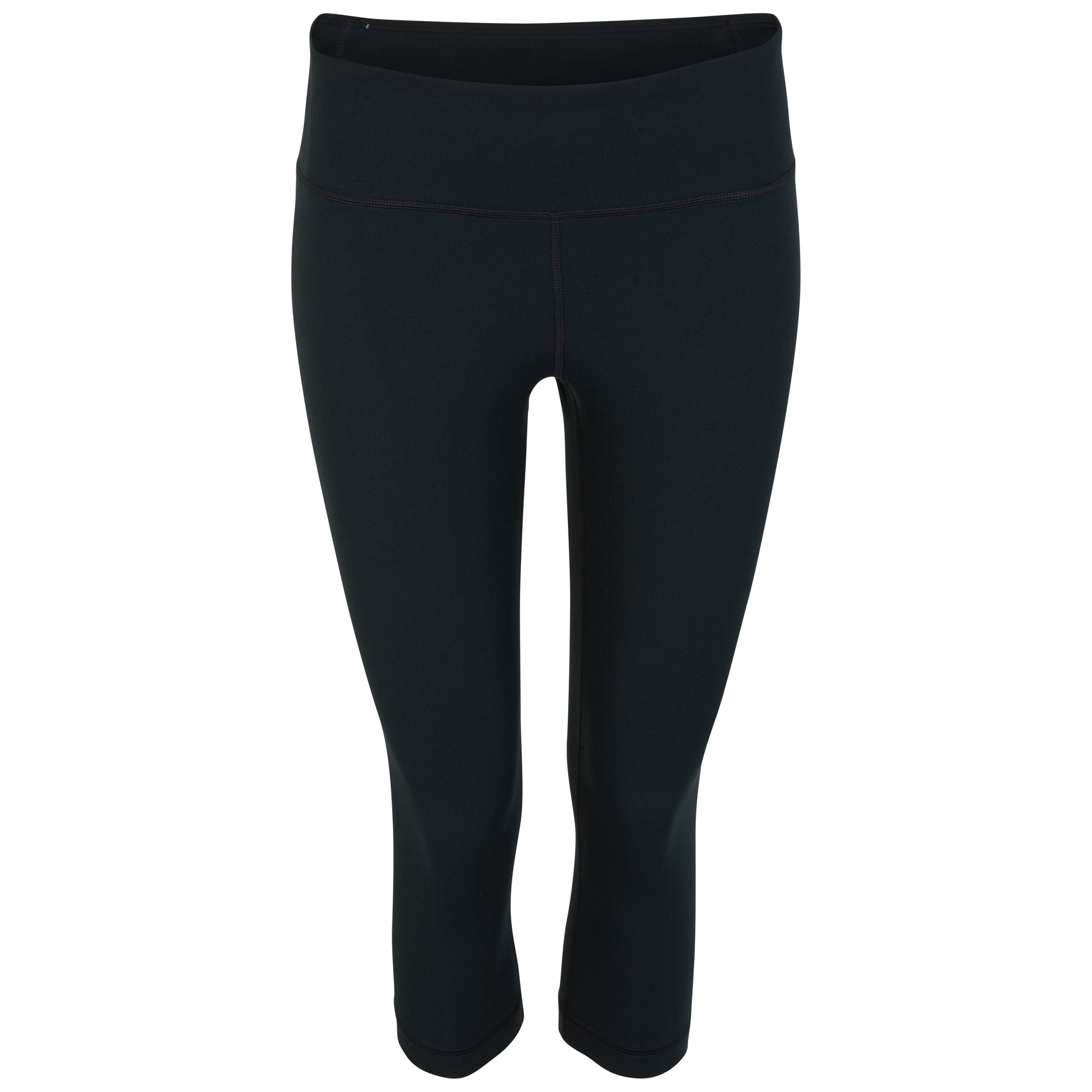 Lifestyle Perfect Tight Capri- Black/Metallic Black