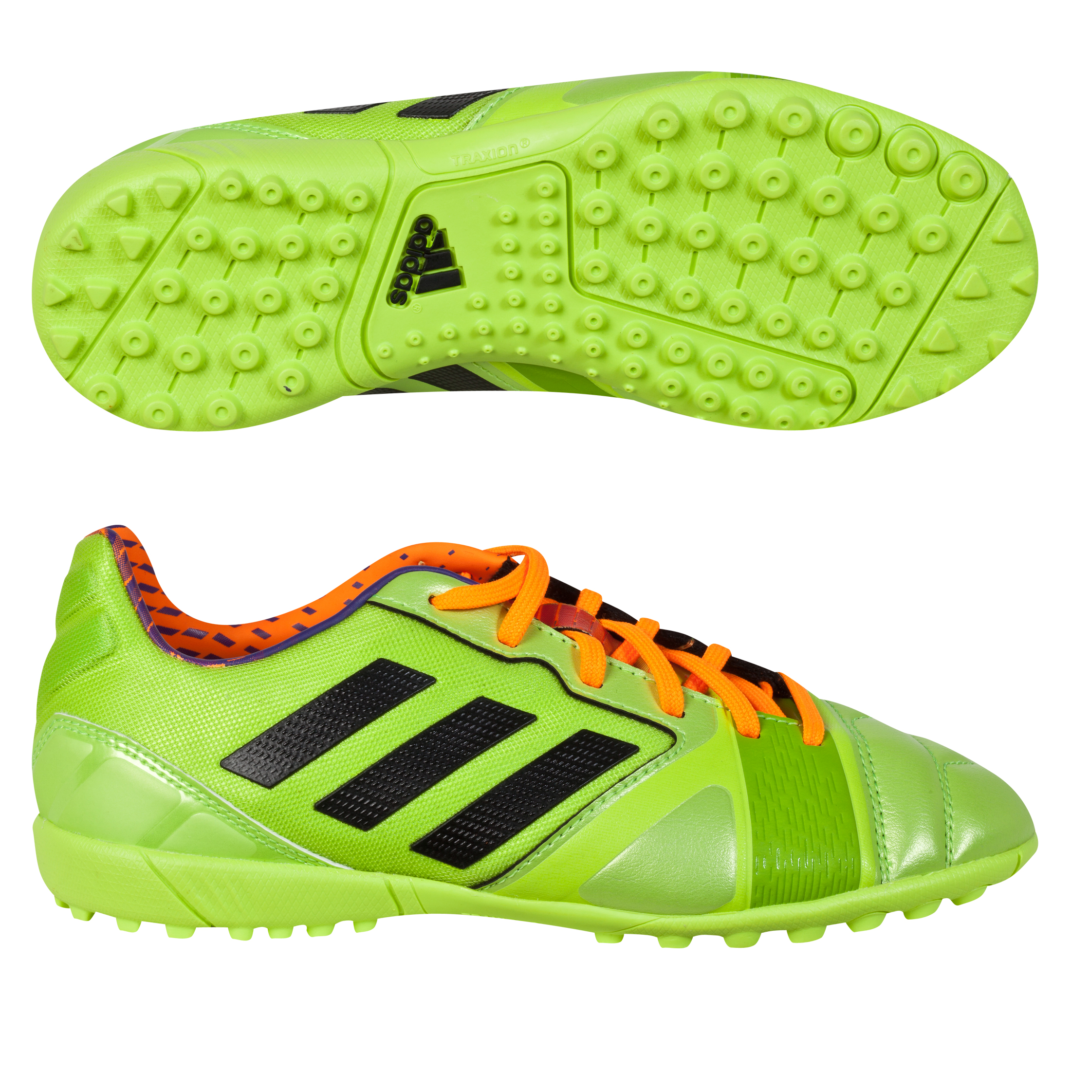 Adidas Nitrocharge 2.0 TRX Astroturf Trainers - Kids Green