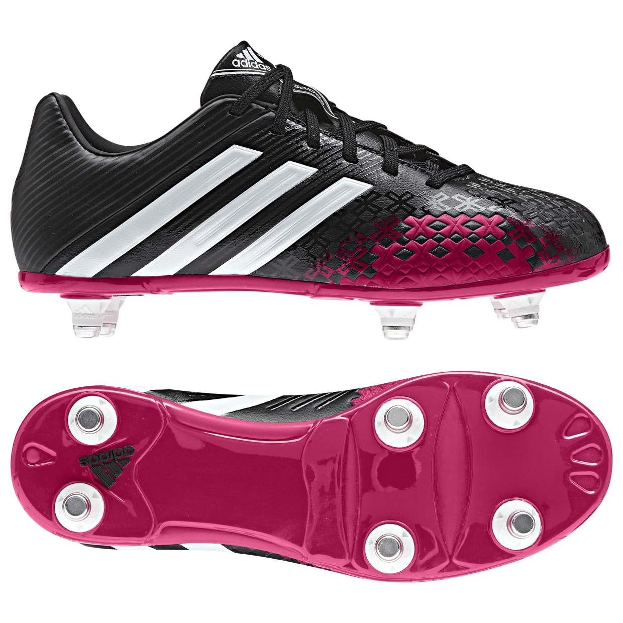 Adidas Predator Absolado LZ Soft Ground Football Boots - Kids Black