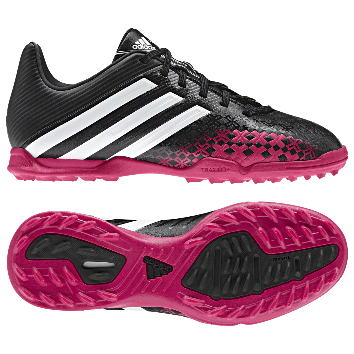 Adidas Predator Absolado LZ TRX Astroturf Trainers - Kids Black