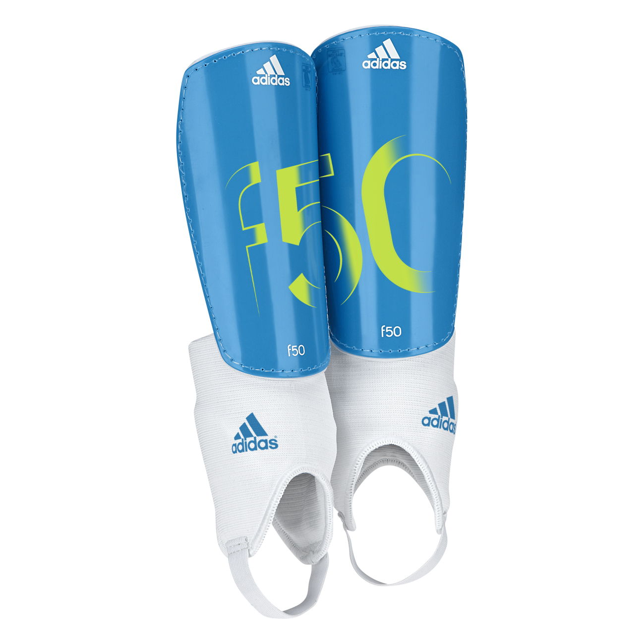 Adidas F50 Shinguards - Kids Blue