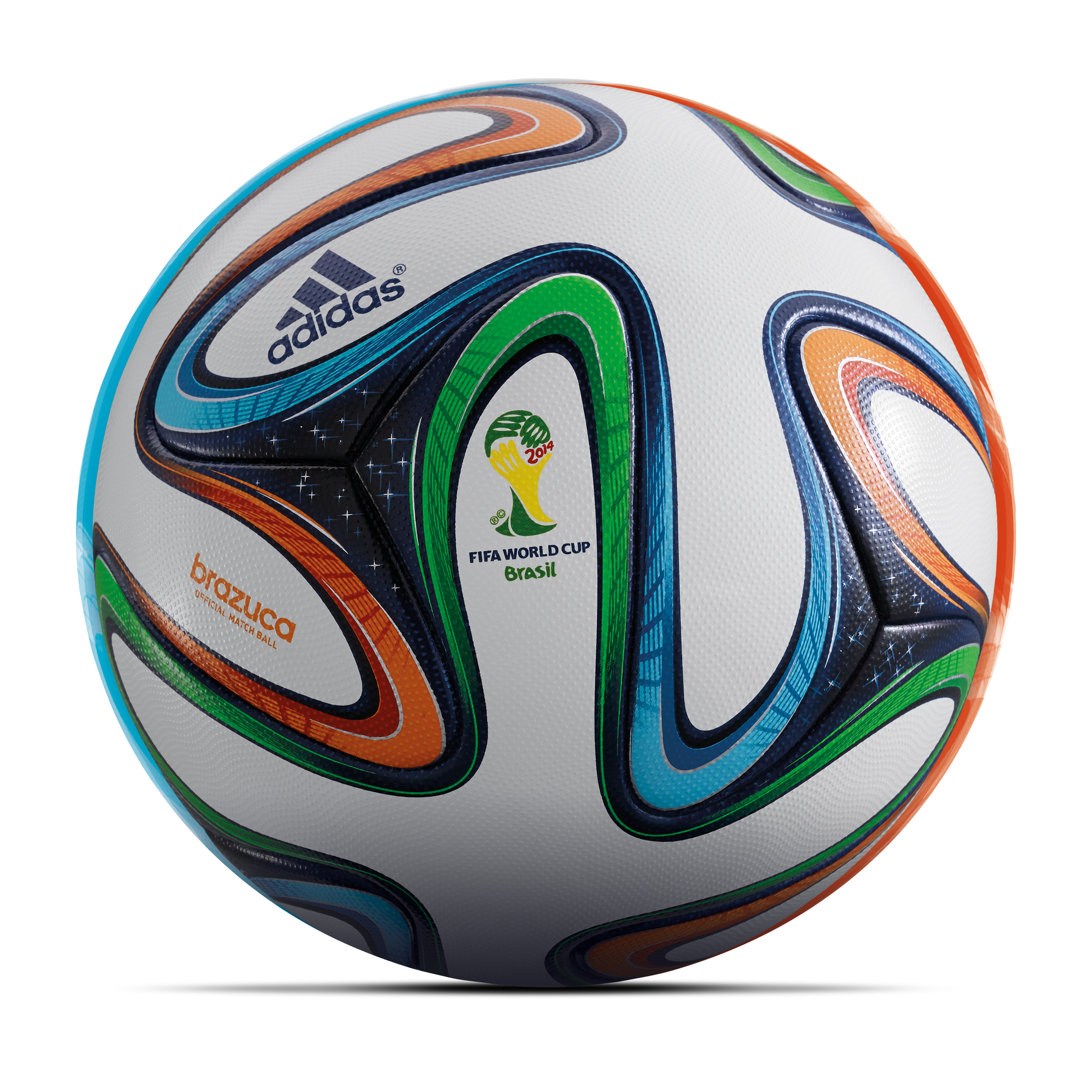 Adidas Brazuca World Cup 2014 Official Match Ball - Size 5 White