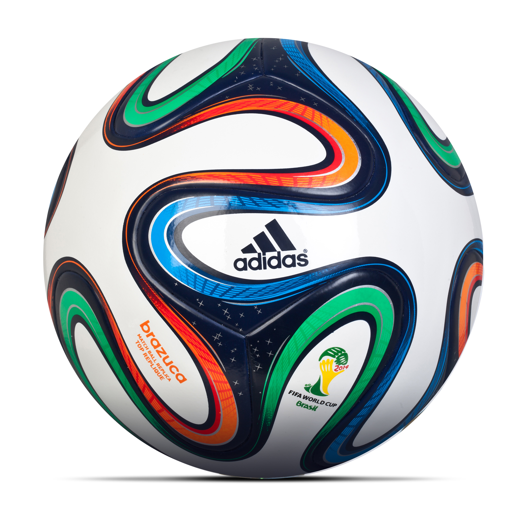 Adidas Brazuca Top Replique Football - Size 5 White