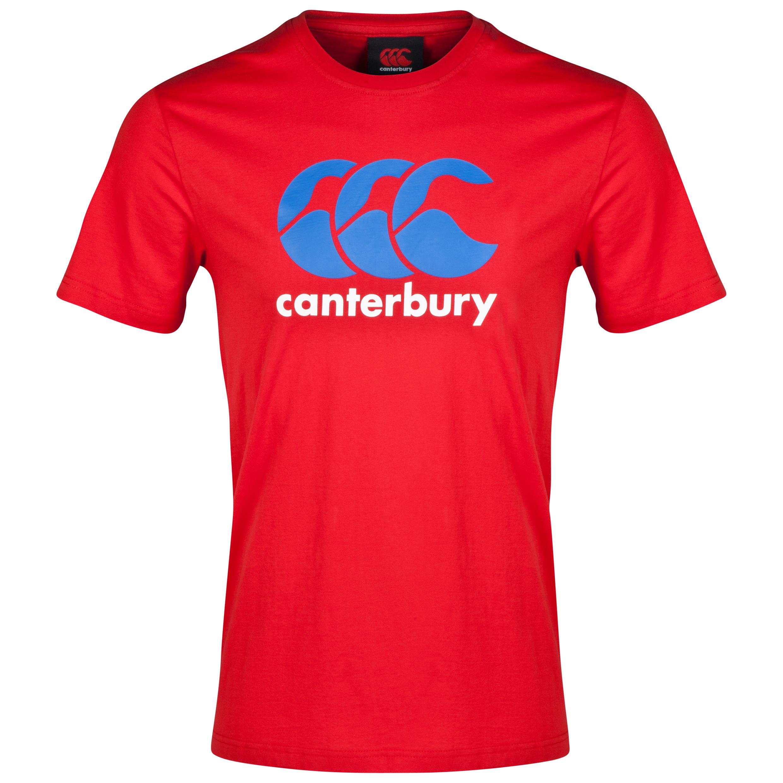 Canterbury Canterbury CCC Logo Tee Red