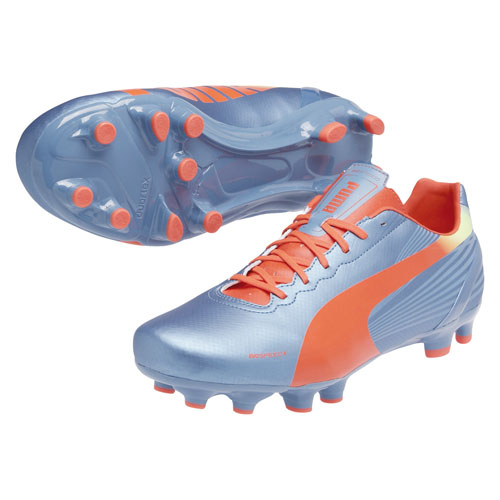Puma evoSPEED 4.2 Firm Ground Football Boots Blue