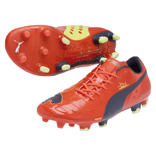 Puma evoPOWER 1 Firm Ground Football Boots Orange