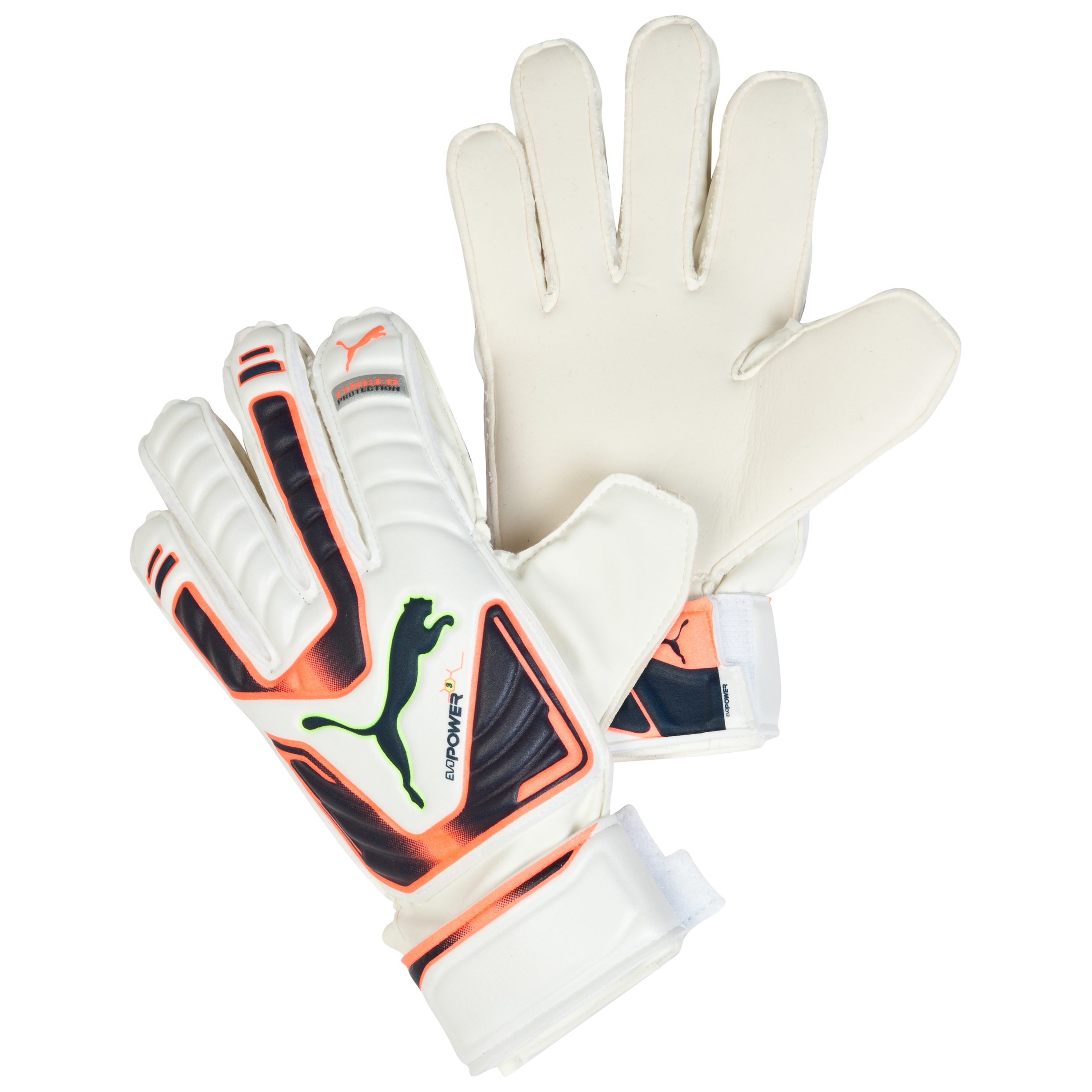 Puma evoPOWER Protect 3 Goalkeeper Gloves White