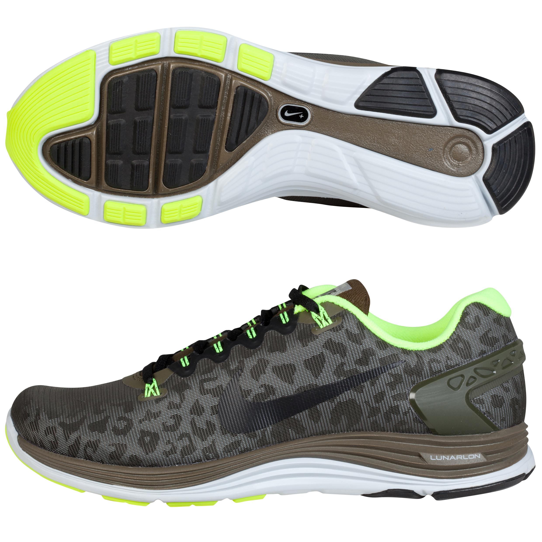 Nike Lunarglide +5 Shield Dk Green
