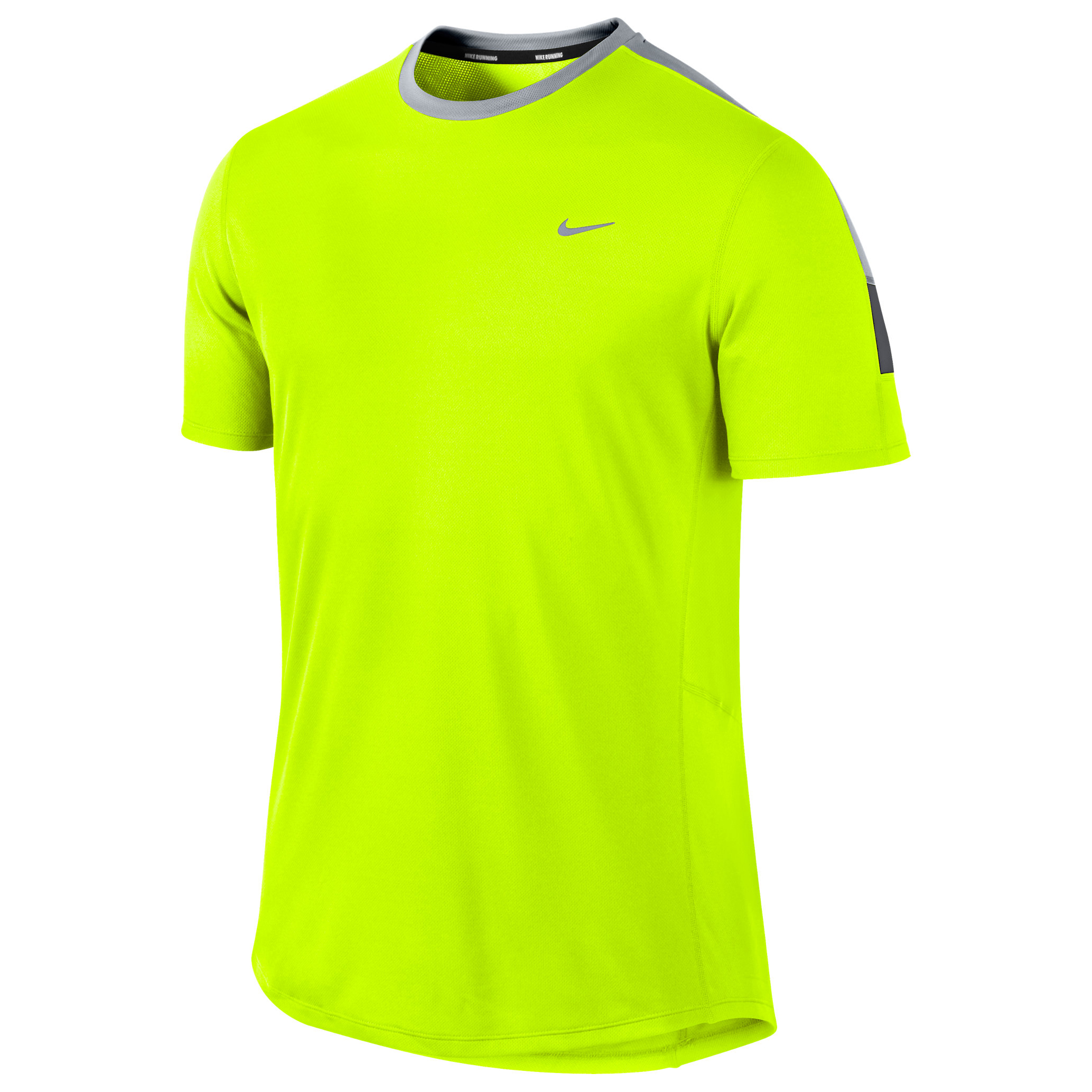 Nike Racer Flash SS Tee Yellow
