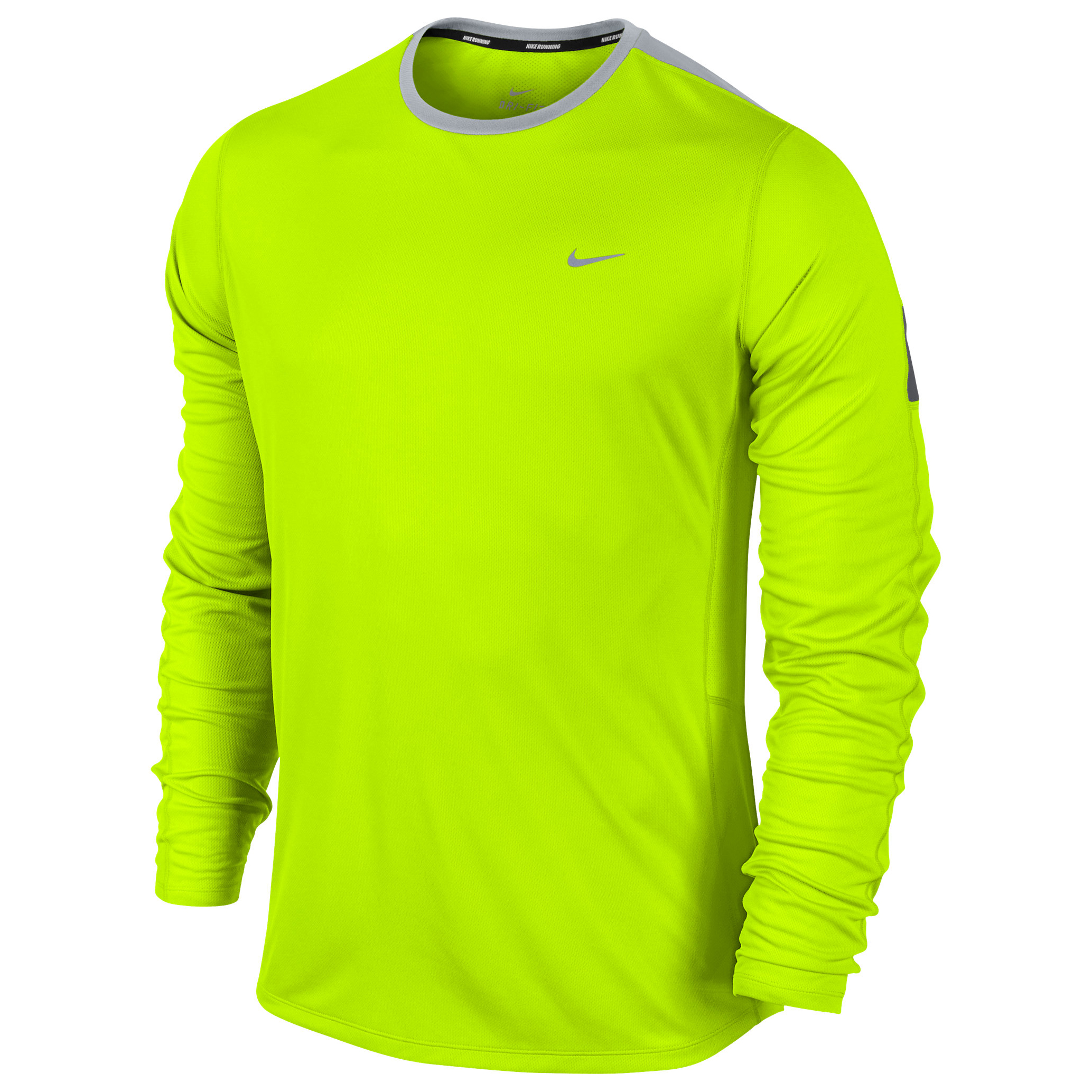 Nike Racer Flash LS Tee Yellow