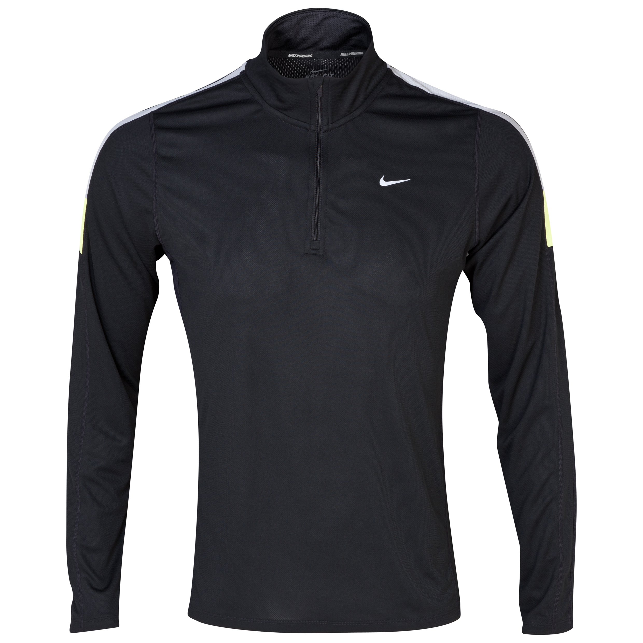 Nike Racer Flash LS 1/2 Zip Top Black