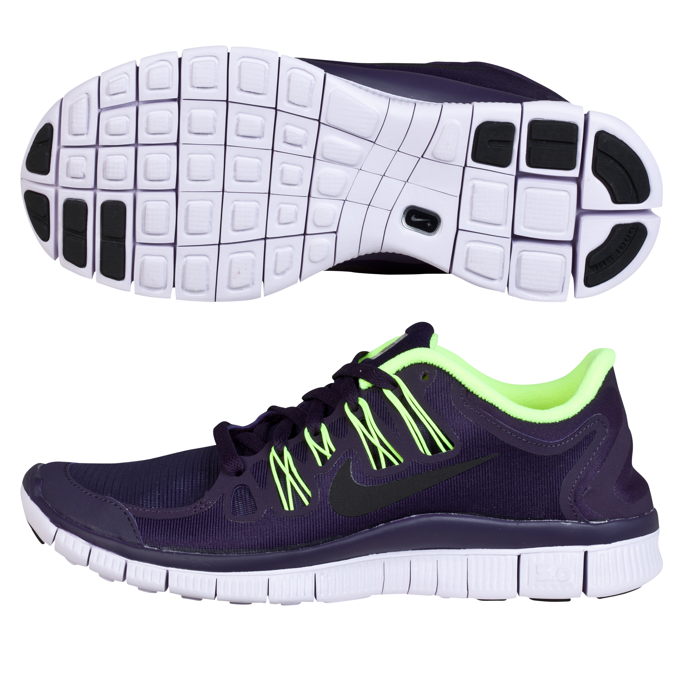 Nike Free 5.0 + Shield - Womens Purple