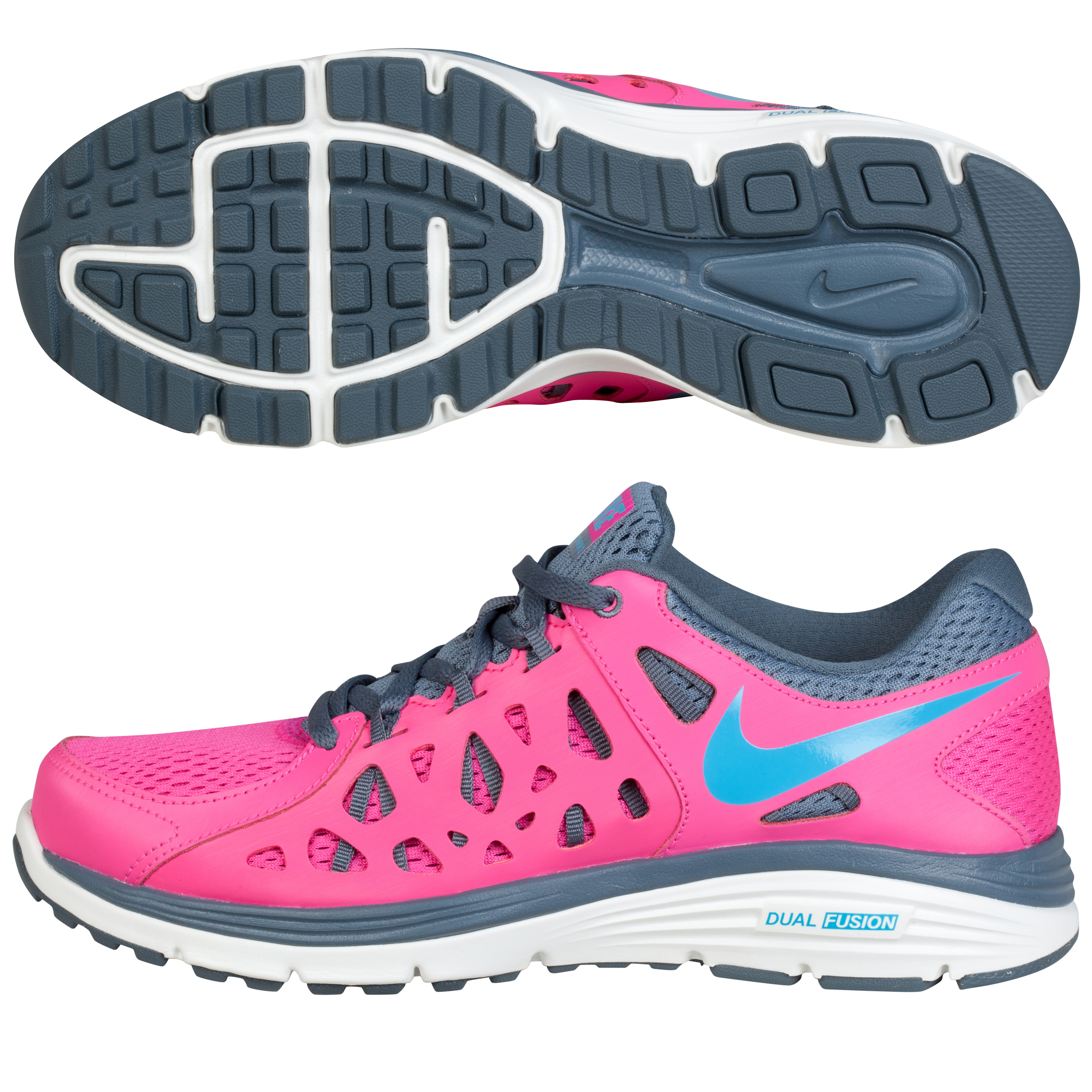 Nike Dual Fusion Run 2 - Womens Red