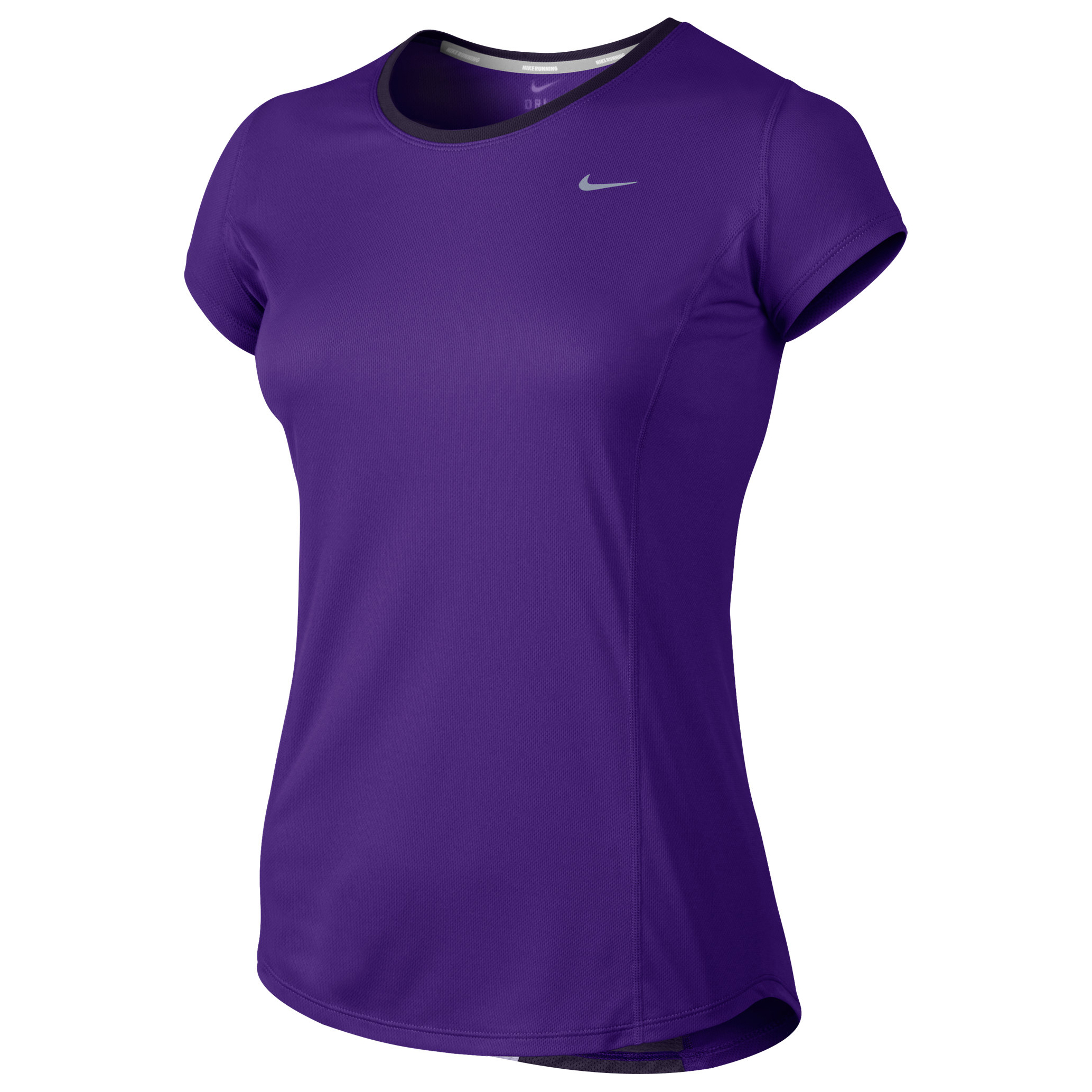 Nike Racer SS T-Shirt - Womens Purple