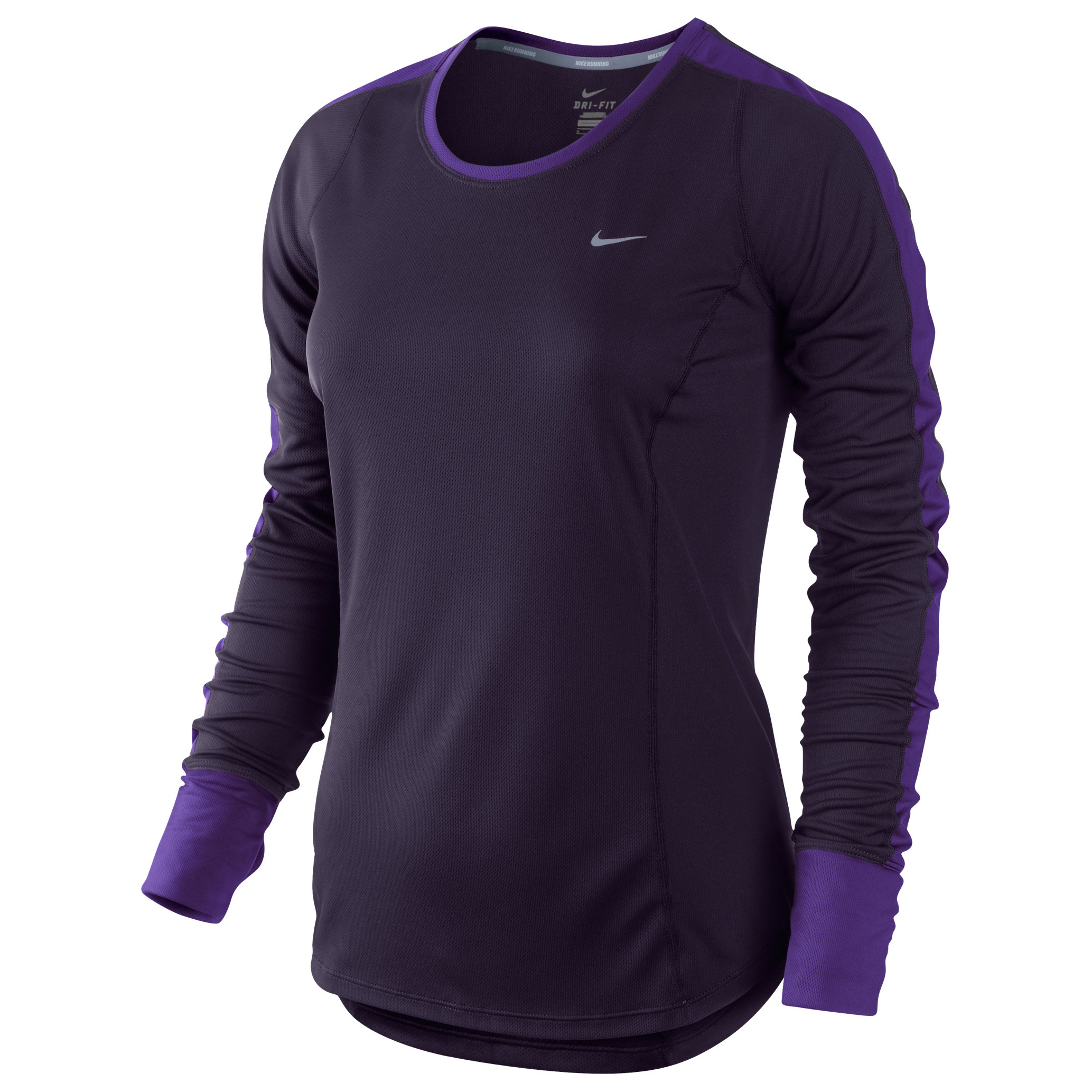 Nike Racer LS T-Shirt - Womens Purple