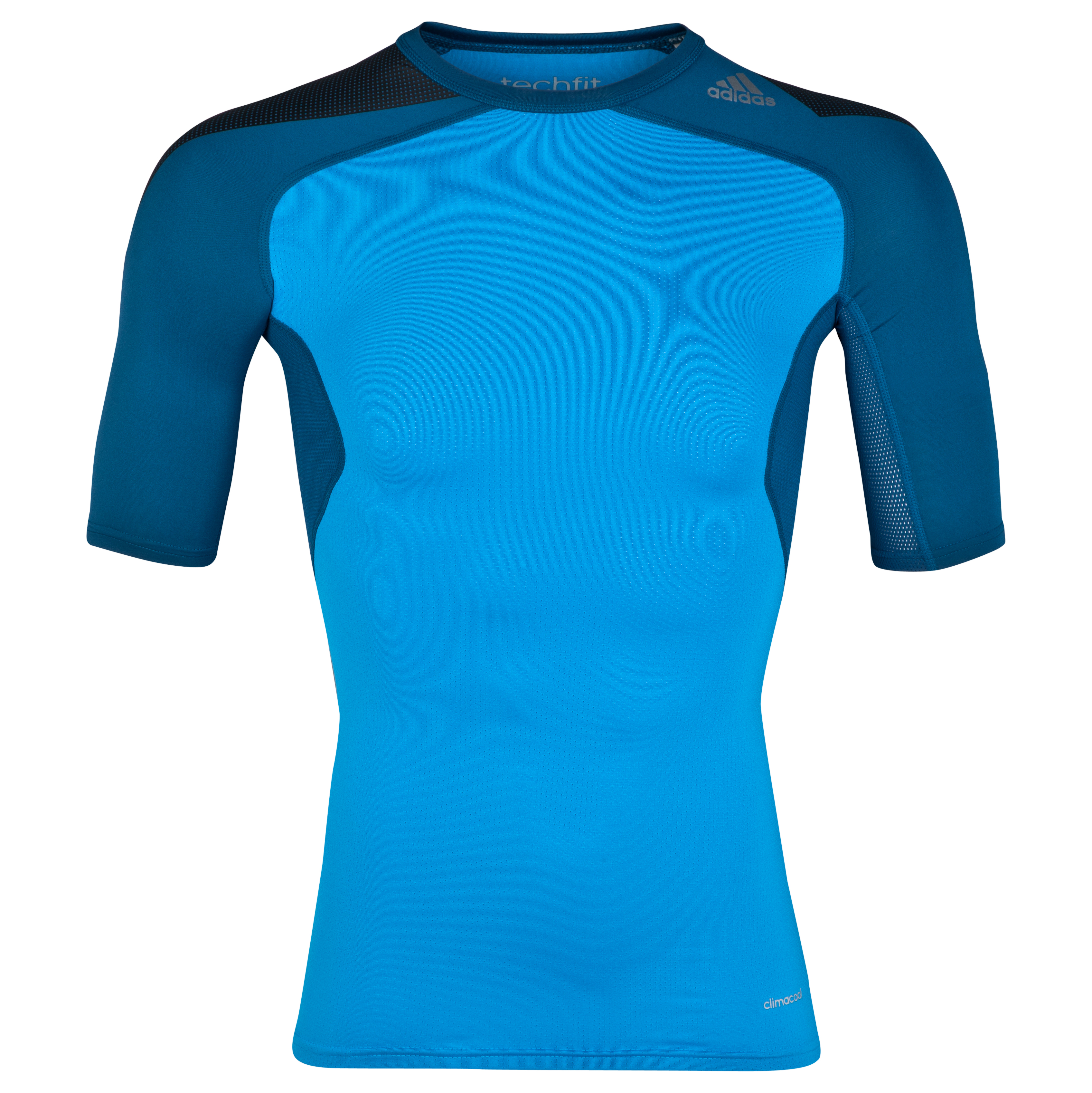 Adidas TechFit Cool Base Layer Top Blue