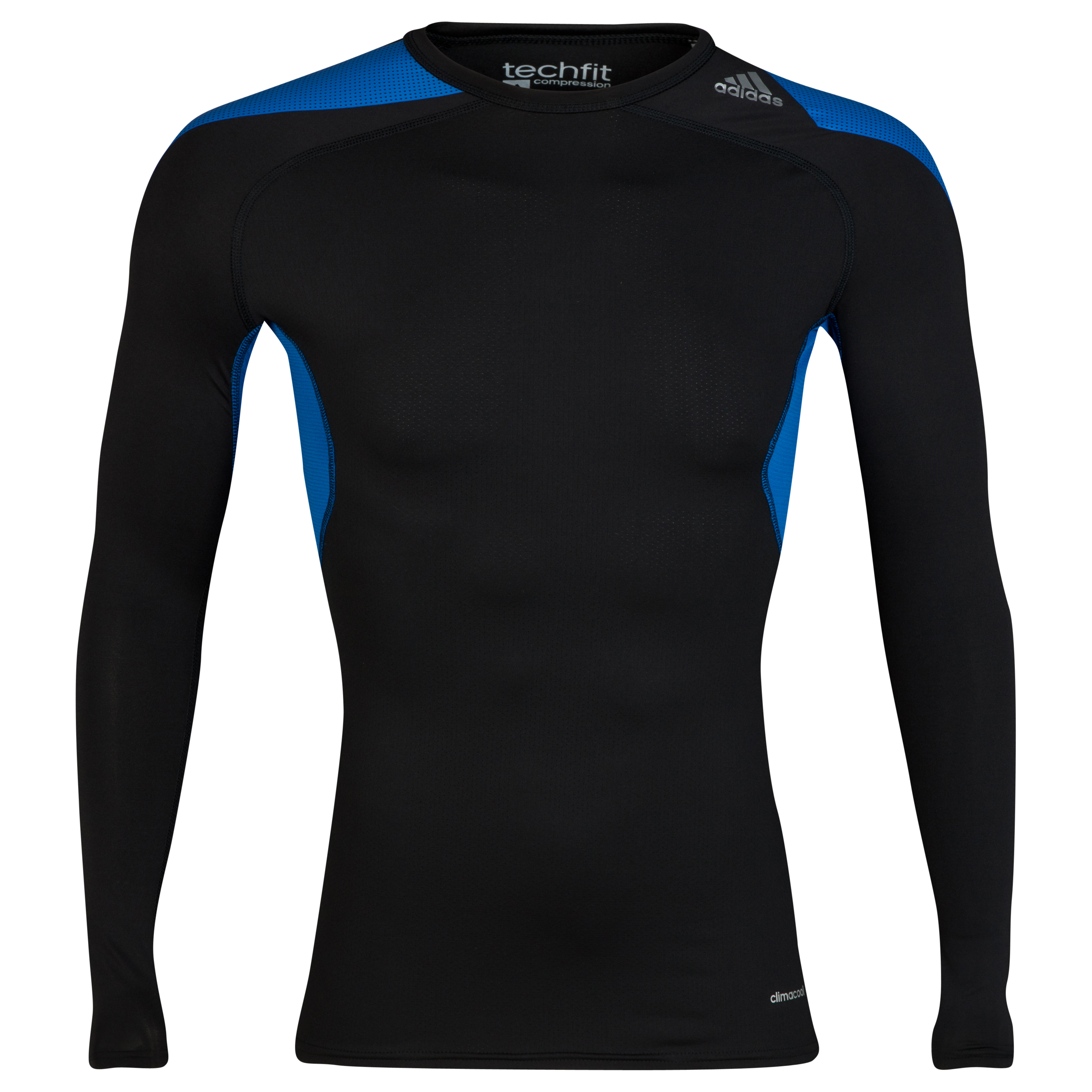 Adidas TechFit Cool Base Layer Top - Long Sleeve Black