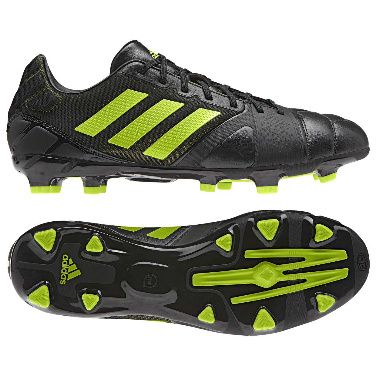 adidas Nitrocharge 2.0 TRX Firm Ground Football Boots Black