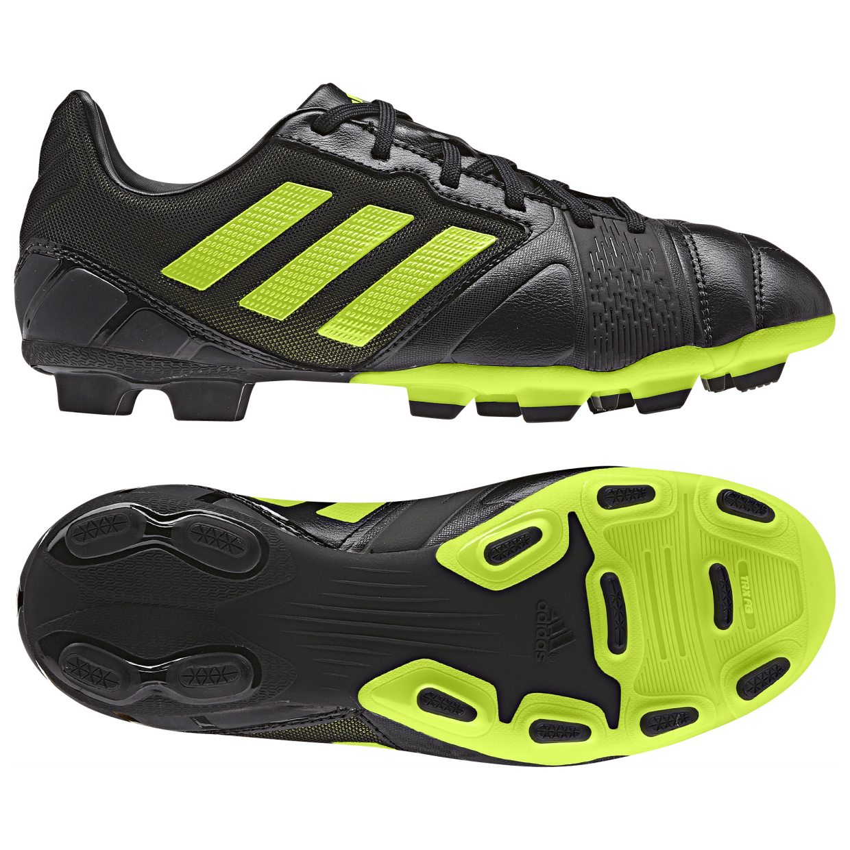Adidas Nitrocharge 2.0 TRX Firm Ground Football Boots  Kids Black
